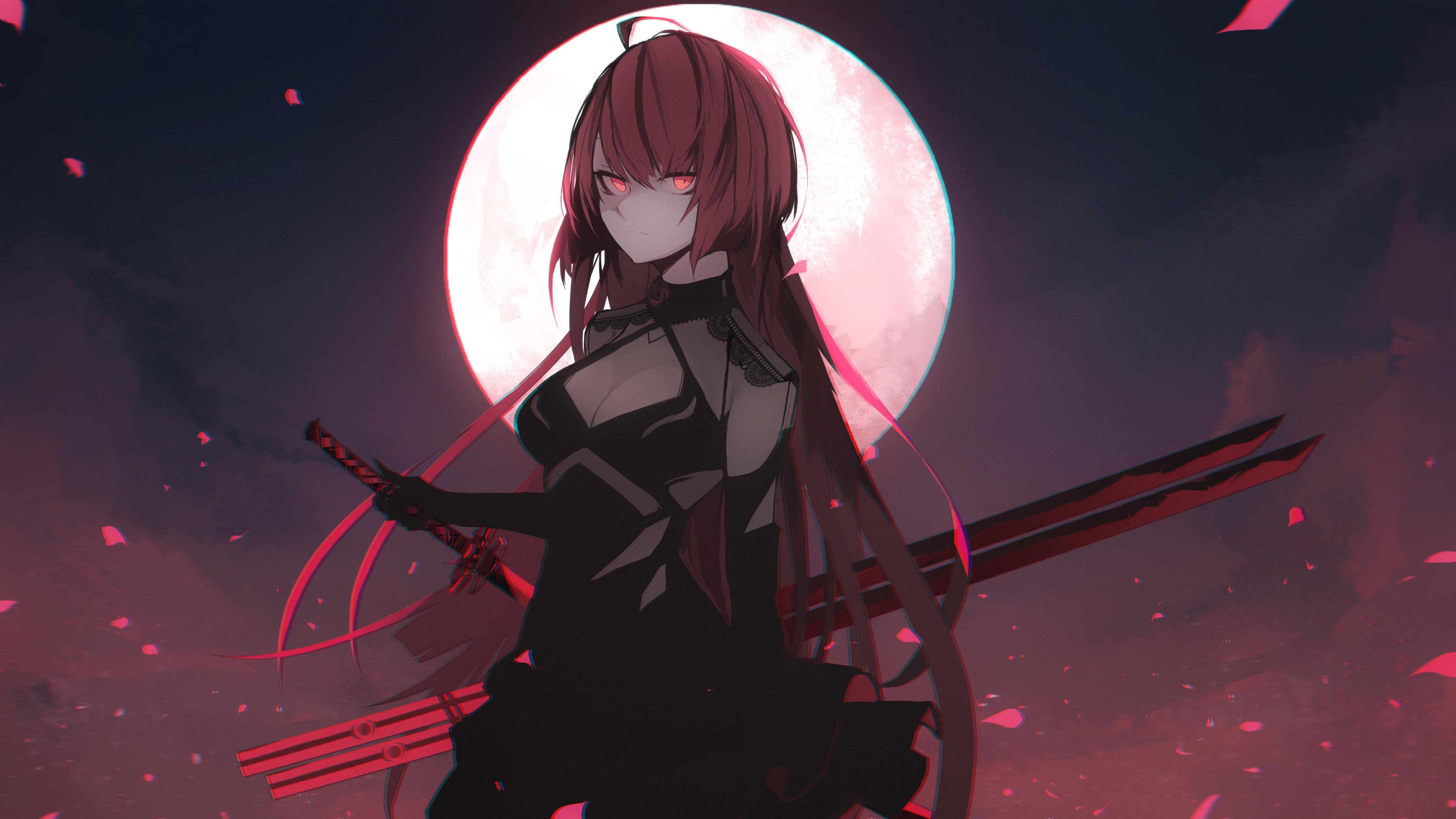 Anime 4k Wallpaper: Elesis Elsword Anime Character 4k Hd-wallpapers, Anime