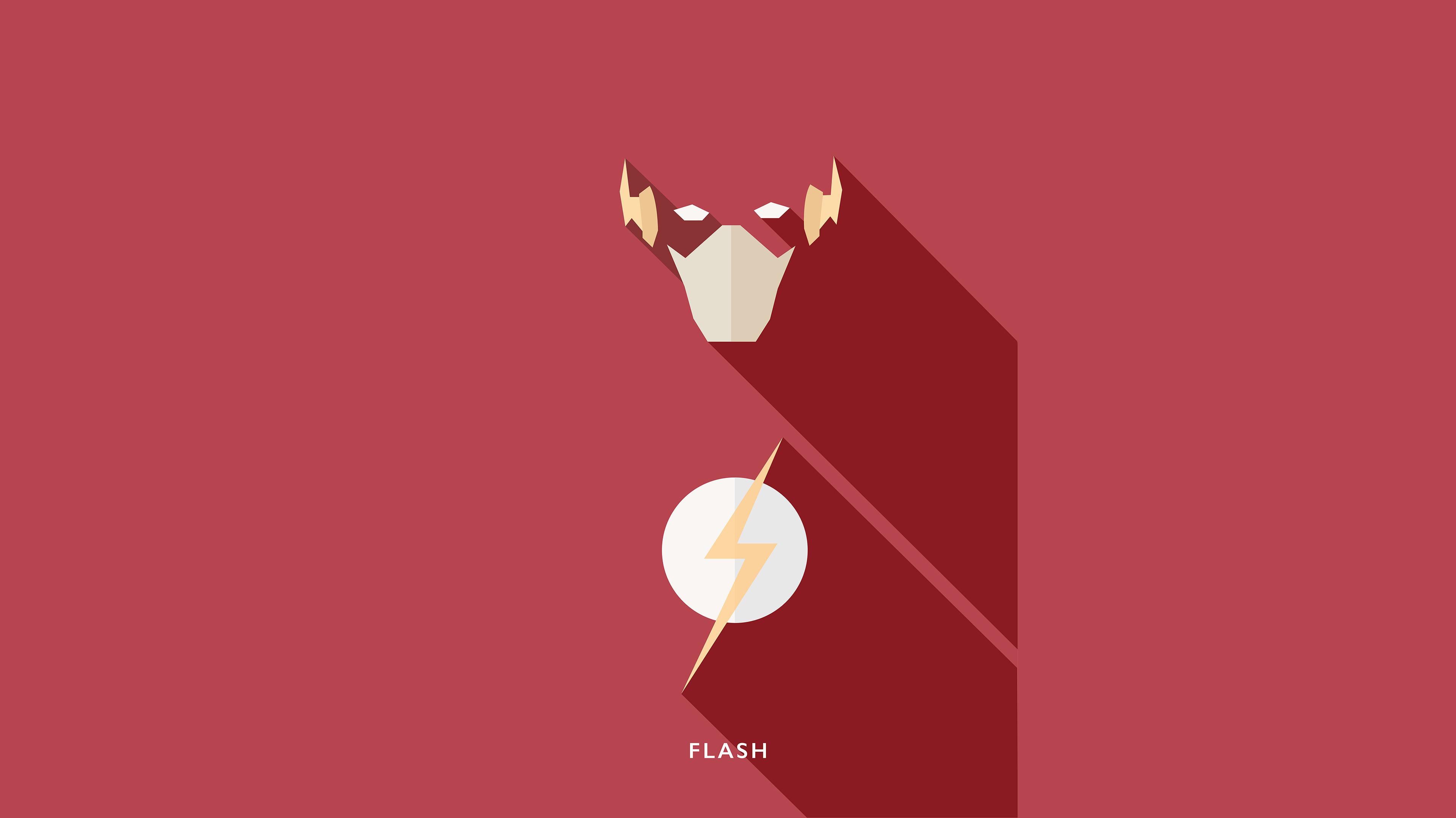 flash minimalisms 4k 1553071257 - Flash Minimalisms 4k - superheroes wallpapers, minimalist wallpapers, minimalism wallpapers, hd-wallpapers, flash wallpapers, digital art wallpapers, behance wallpapers, artwork wallpapers, artist wallpapers, 4k-wallpapers