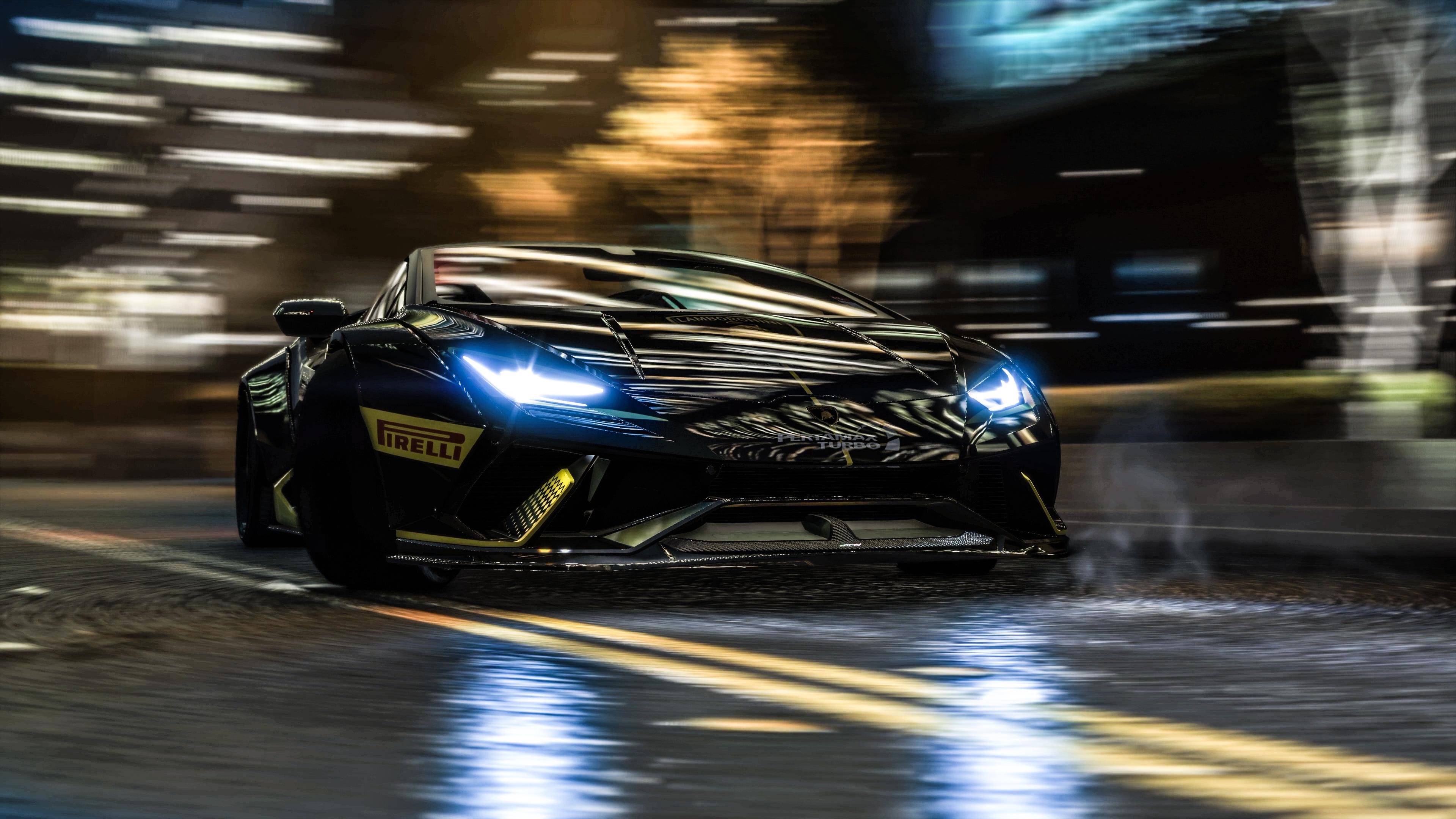 Wallpaper 4k Gta V Lamborghini In Motion 4k 4k