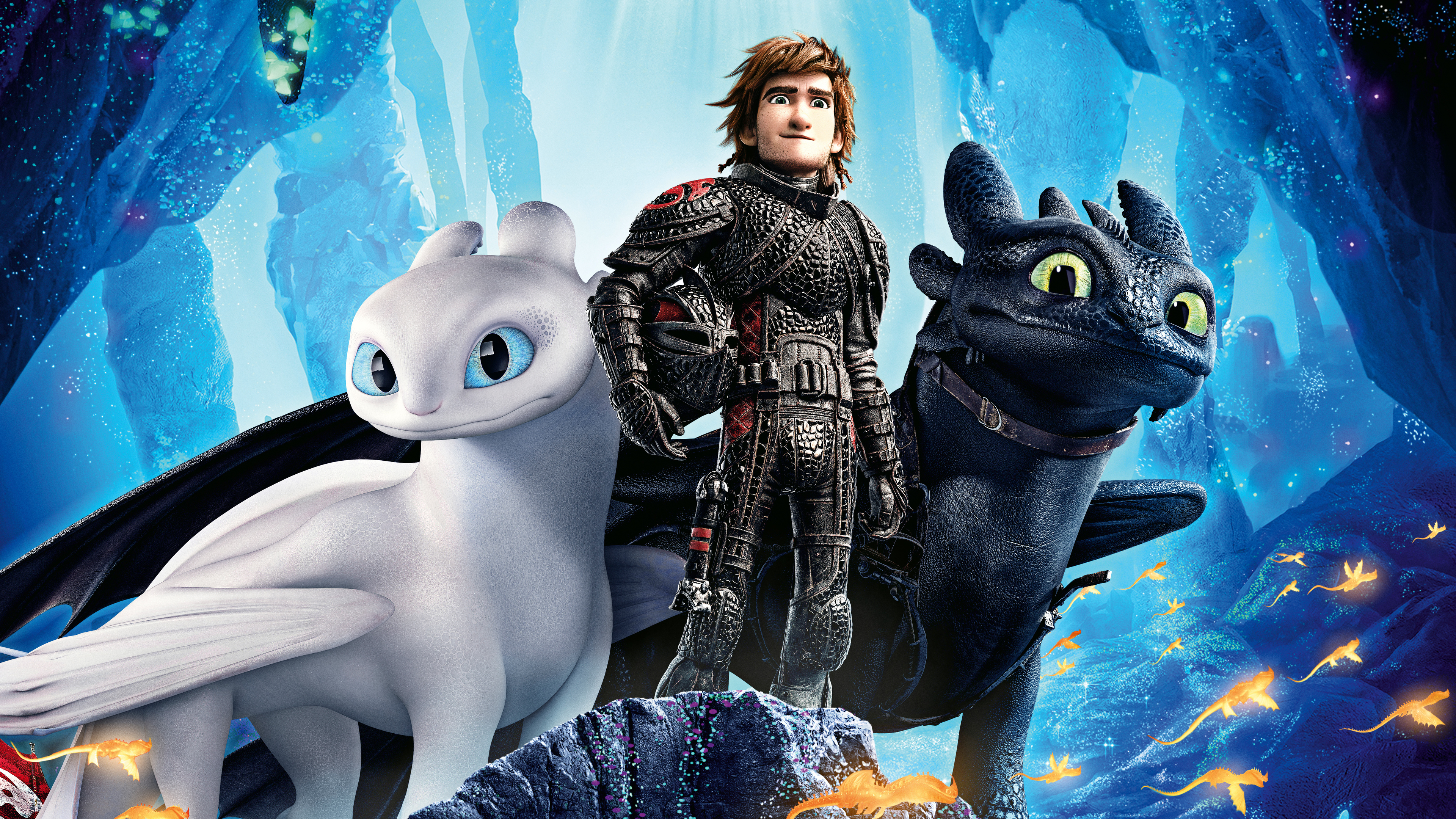 Wallpaper 4k How To Train Your Dragon Into The Hidden World