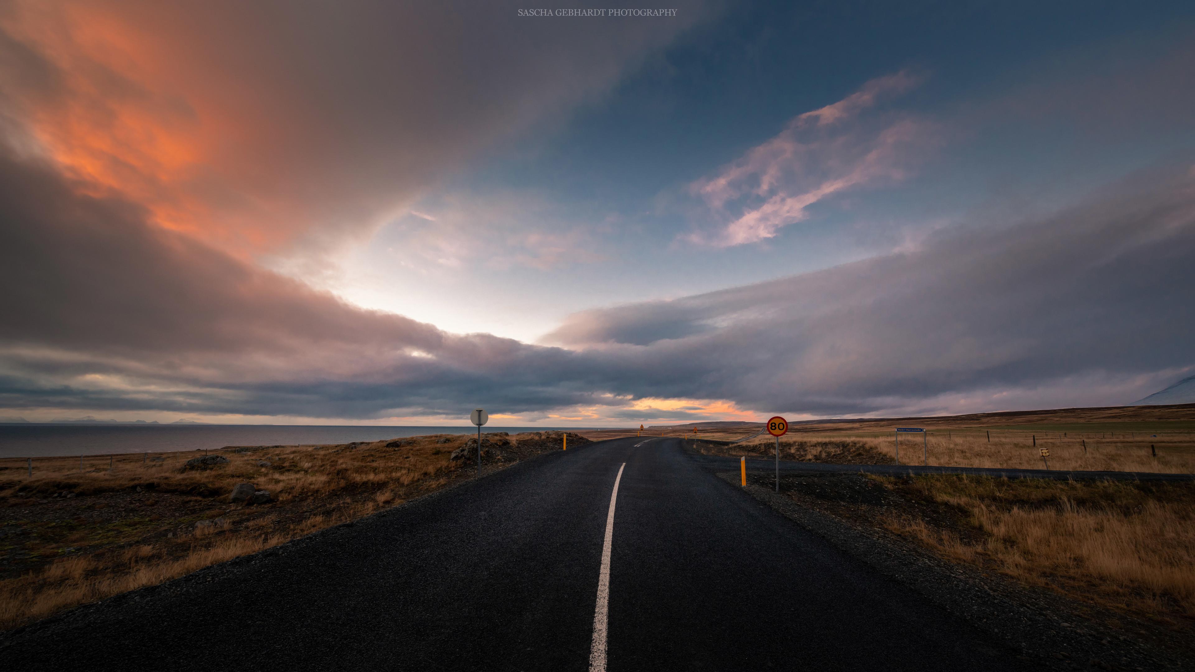 iceland sunset 4k 1551644095 - Iceland Sunset 4k - sunset wallpapers, nature wallpapers, iceland wallpapers, hd-wallpapers, 8k wallpapers, 4k-wallpapers