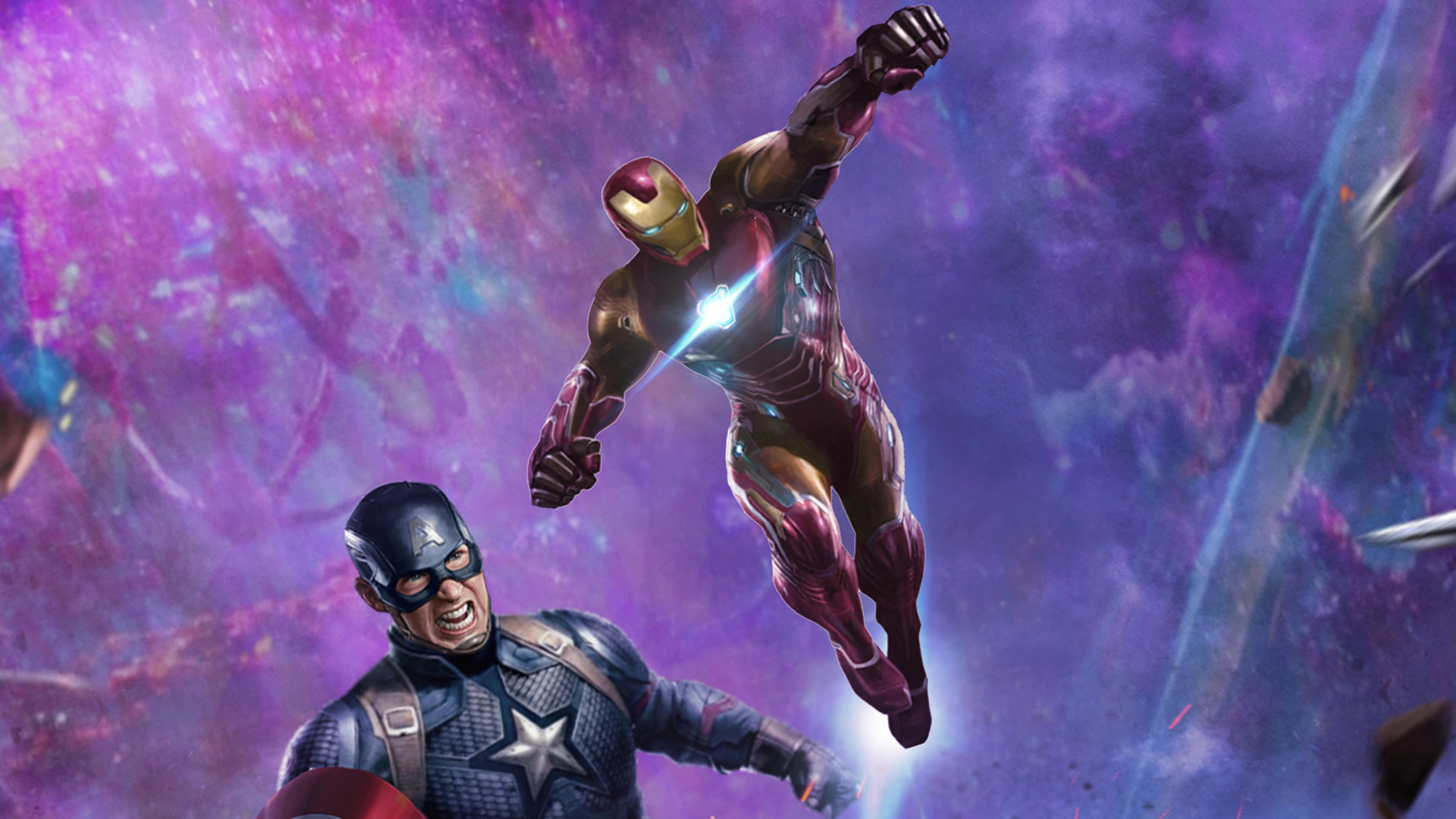 iron man and captain america in avengers end game 4k 1553074134 - Iron Man And Captain America In Avengers End Game 4k - superheroes wallpapers, movies wallpapers, iron man wallpapers, hd-wallpapers, captain america wallpapers, avengers end game wallpapers, 5k wallpapers, 4k-wallpapers, 2019 movies wallpapers