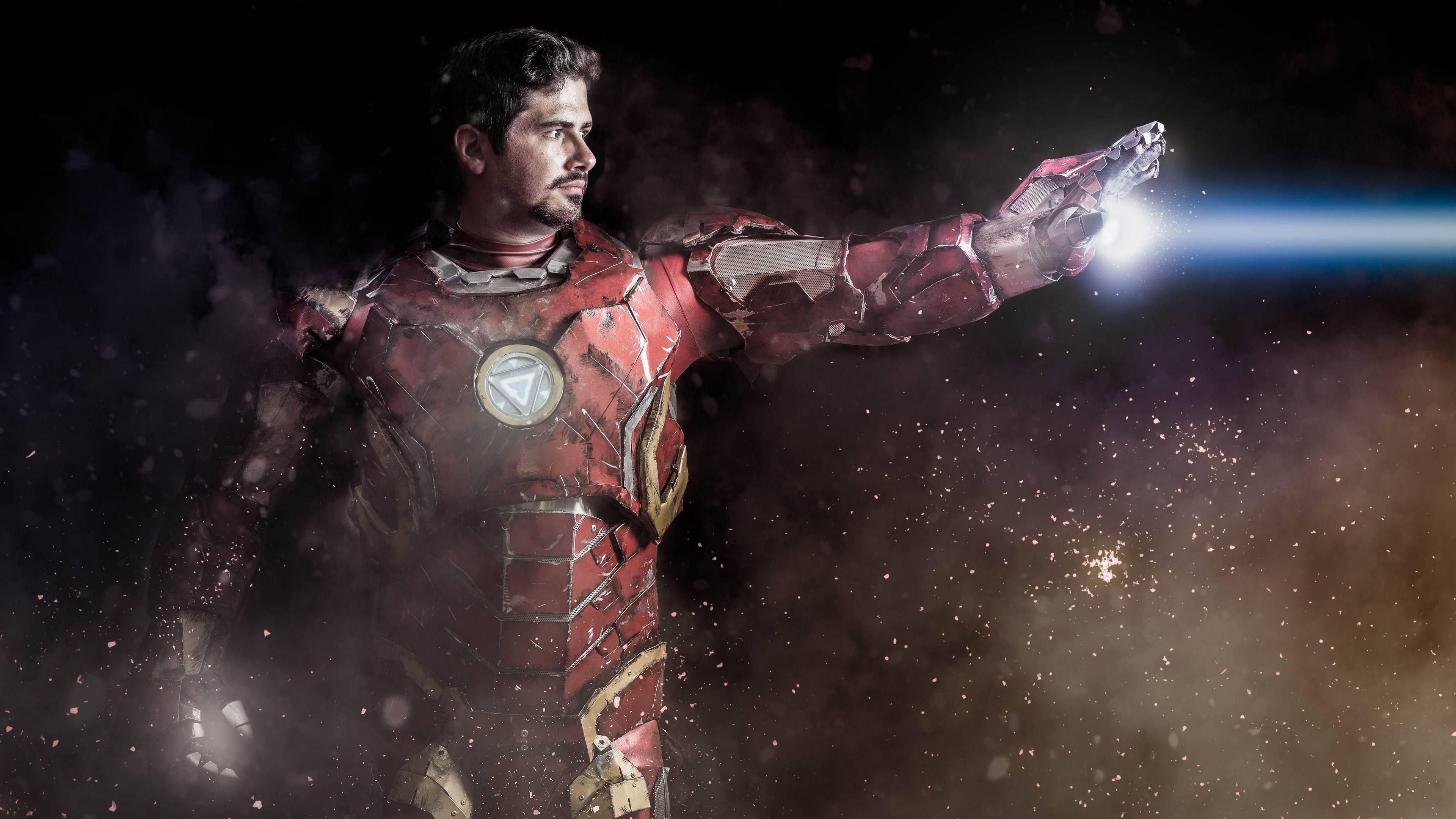 iron man cosplay 4k 1553071009 - Iron Man Cosplay 4k - superheroes wallpapers, iron man wallpapers, hd-wallpapers, cosplay wallpapers, 4k-wallpapers