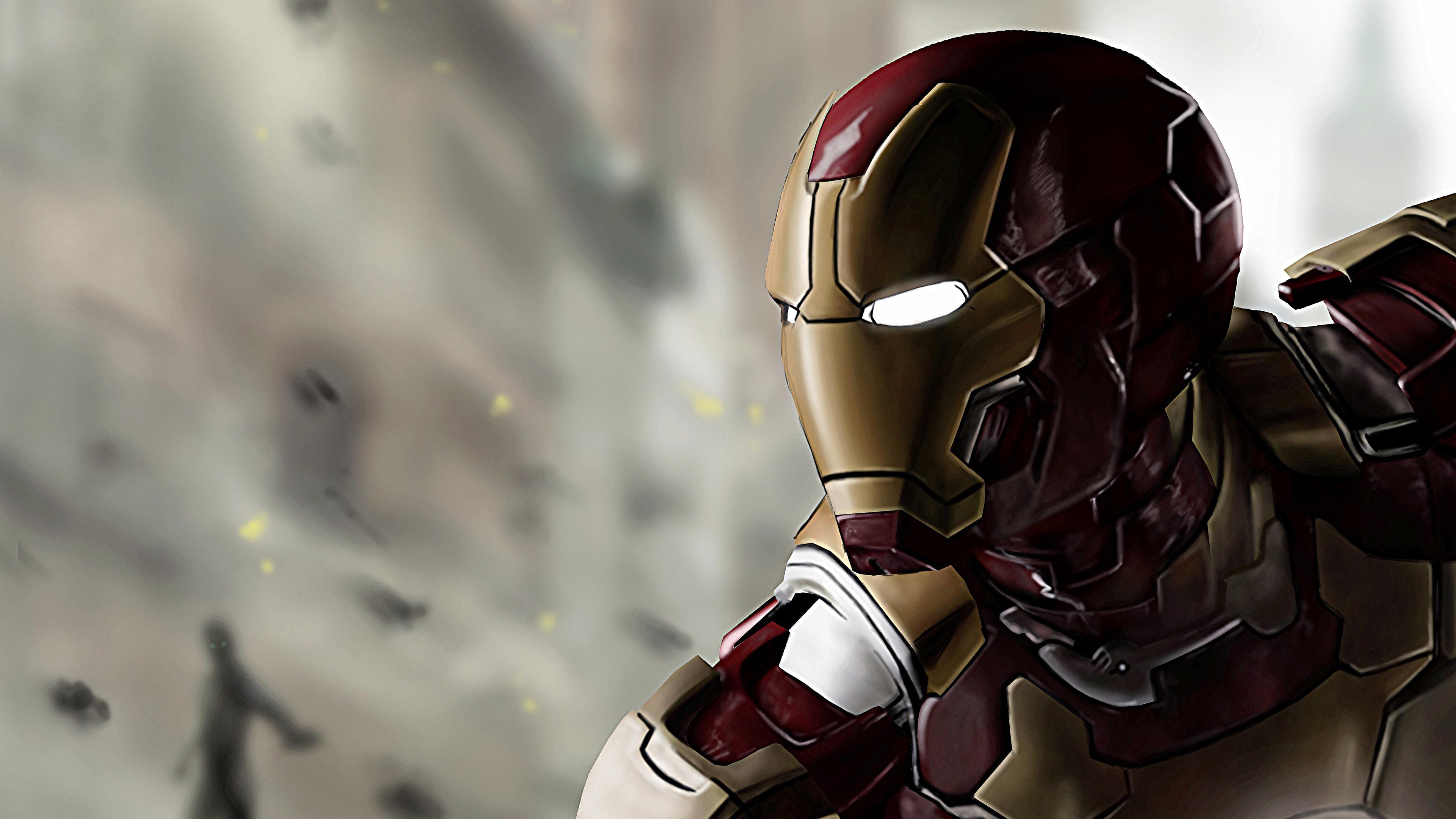 Wallpaper 4k Iron Man In Avengers Age Of Ultron 4k 4k