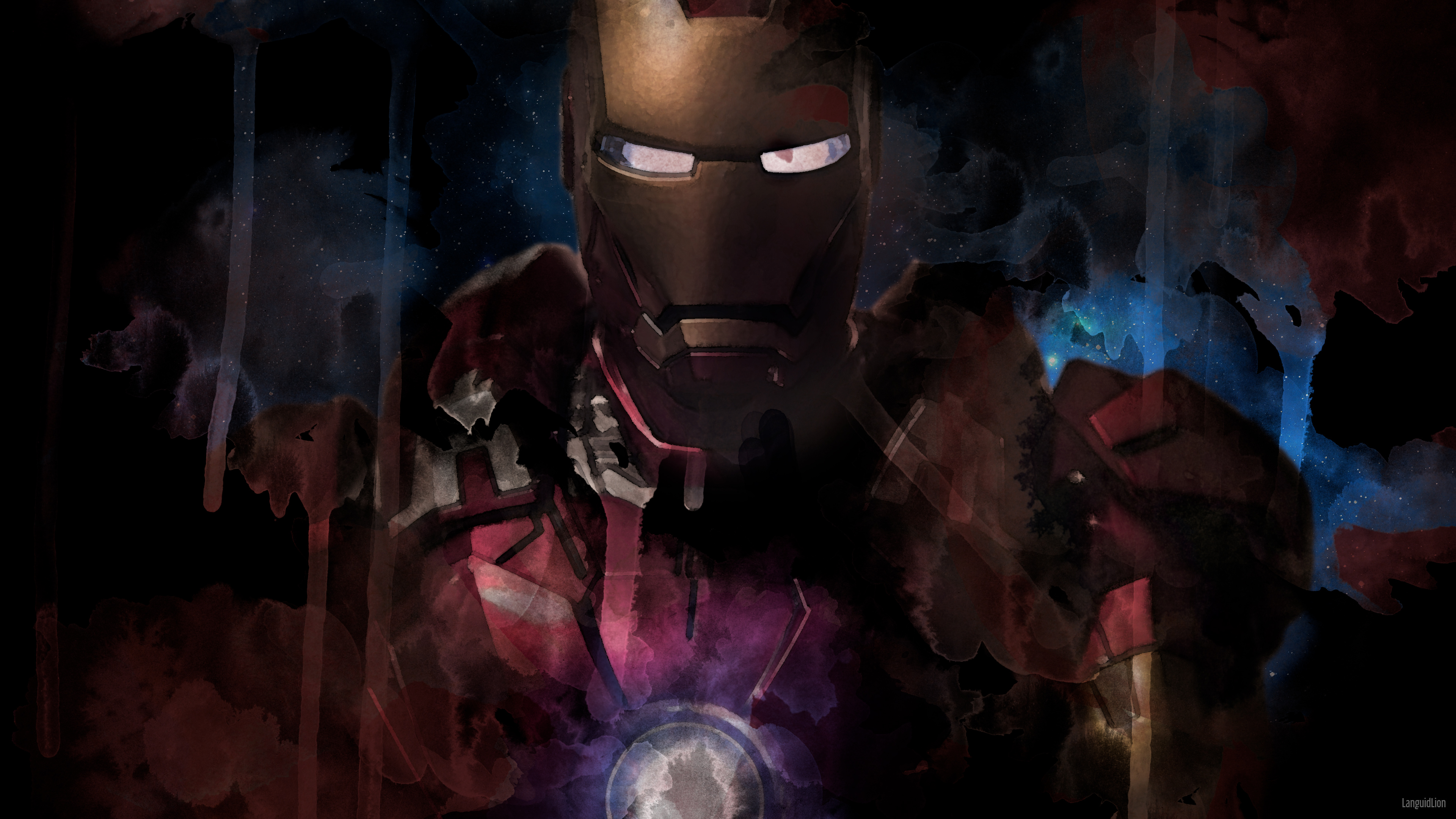 iron man paint artwork 4k 1553072043 - Iron Man Paint Artwork 4k - superheroes wallpapers, iron man wallpapers, hd-wallpapers, digital art wallpapers, artwork wallpapers, 4k-wallpapers