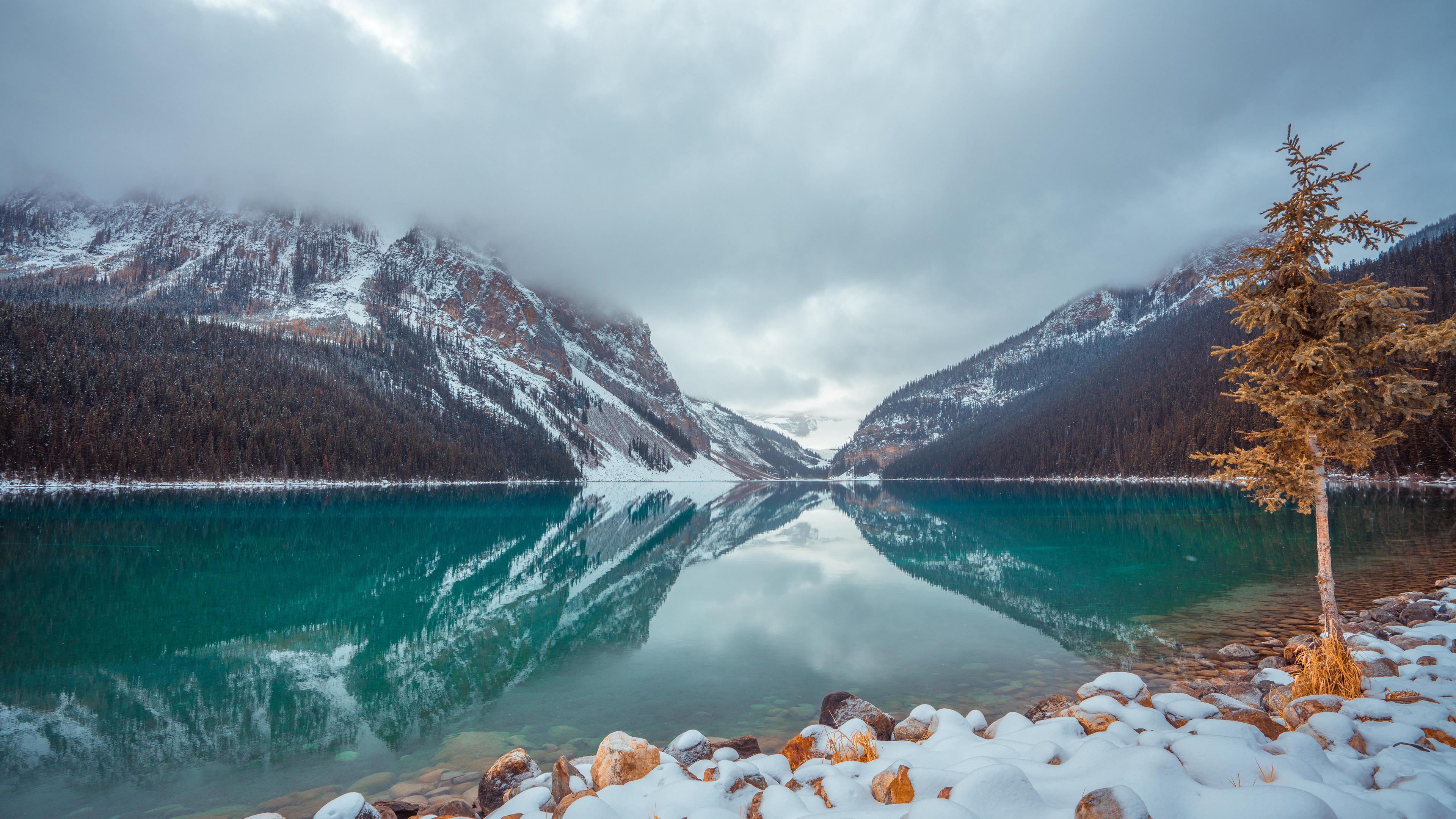 Wallpaper 4k Lake Louise Canada 4k 4k Wallpapers Canada