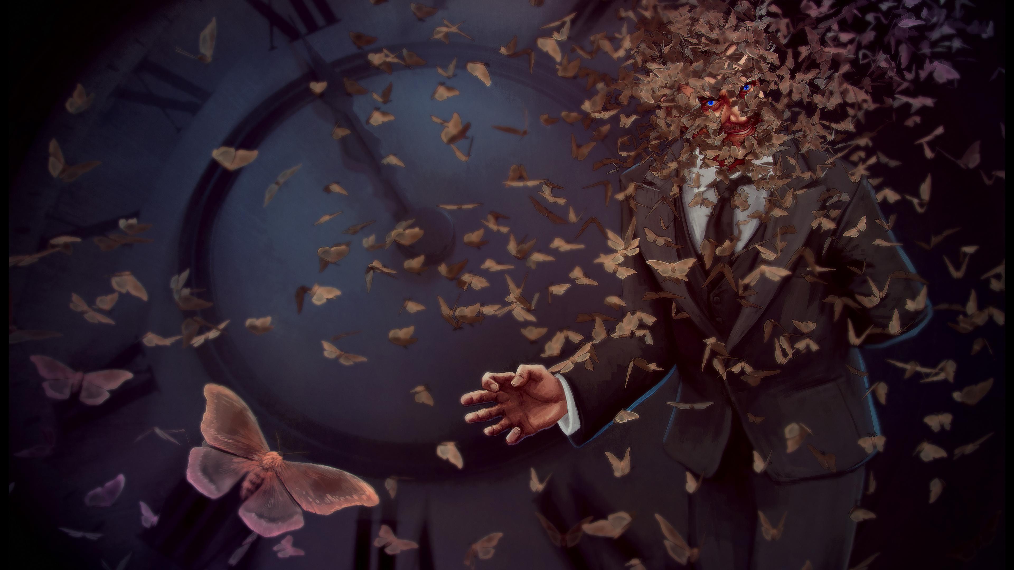 magician fantasy beast evil 4k 1551642526 - Magician Fantasy Beast Evil 4k - hd-wallpapers, fantasy wallpapers, evil wallpapers, digital art wallpapers, deviantart wallpapers, artwork wallpapers, artist wallpapers, 5k wallpapers, 4k-wallpapers