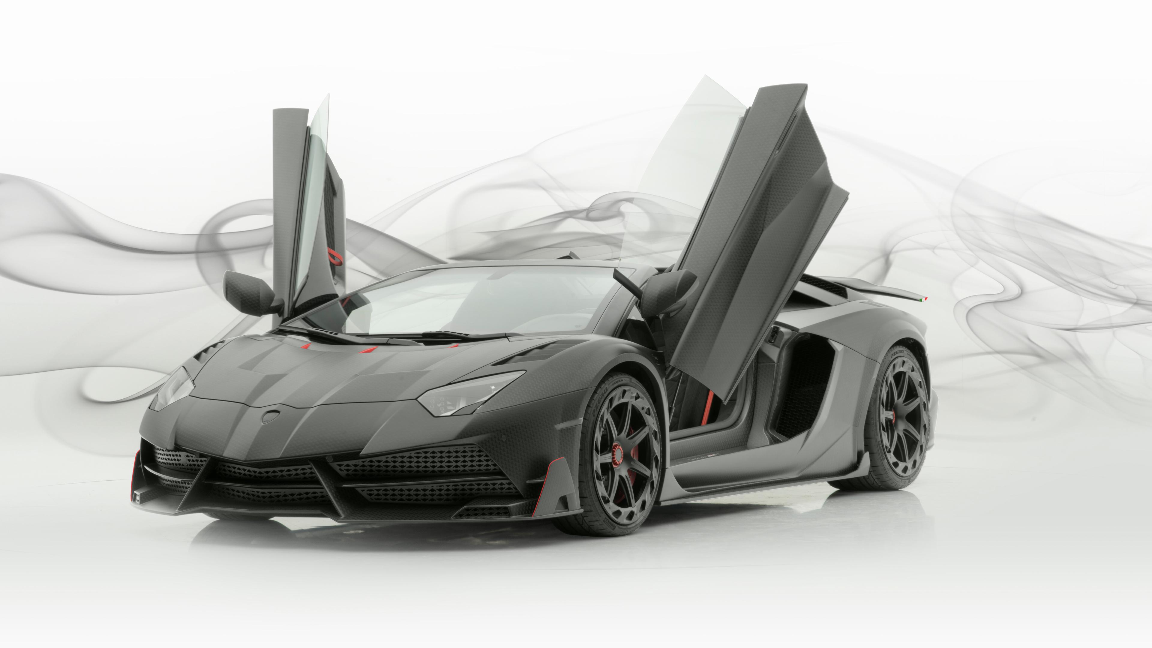 2048x2048 2018 Lamborghini Aventador Svj 4k Ipad Air Hd 4k: Mansory Lamborghini Aventador Carbonado Evo Roadster 2019