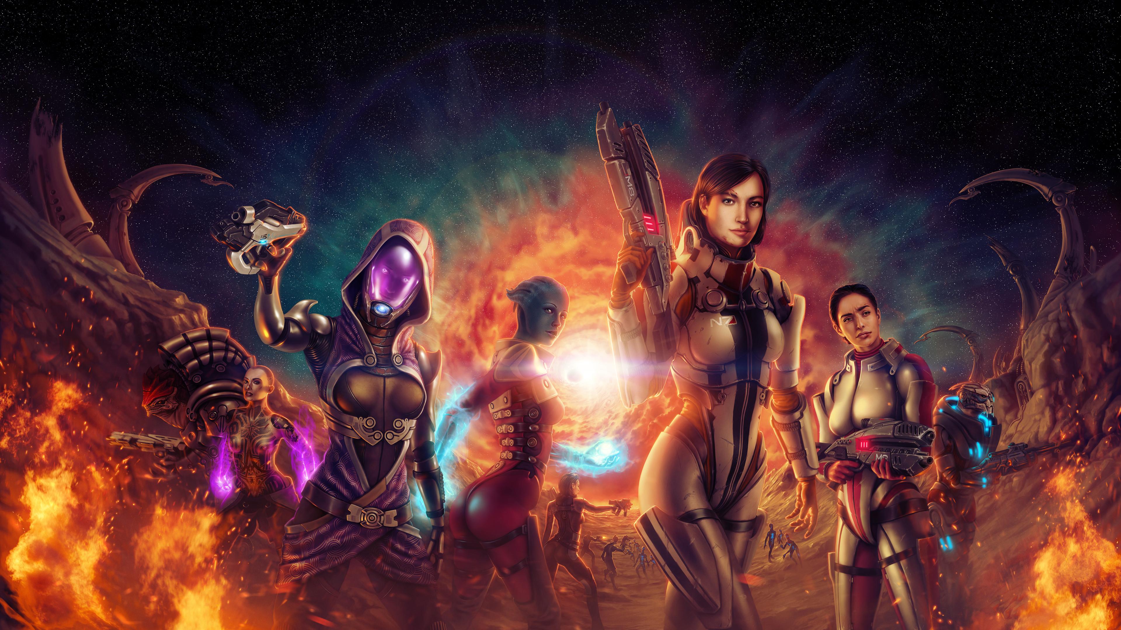 Wallpaper 4k Mass Effect Endgame 4k 4k Wallpapers