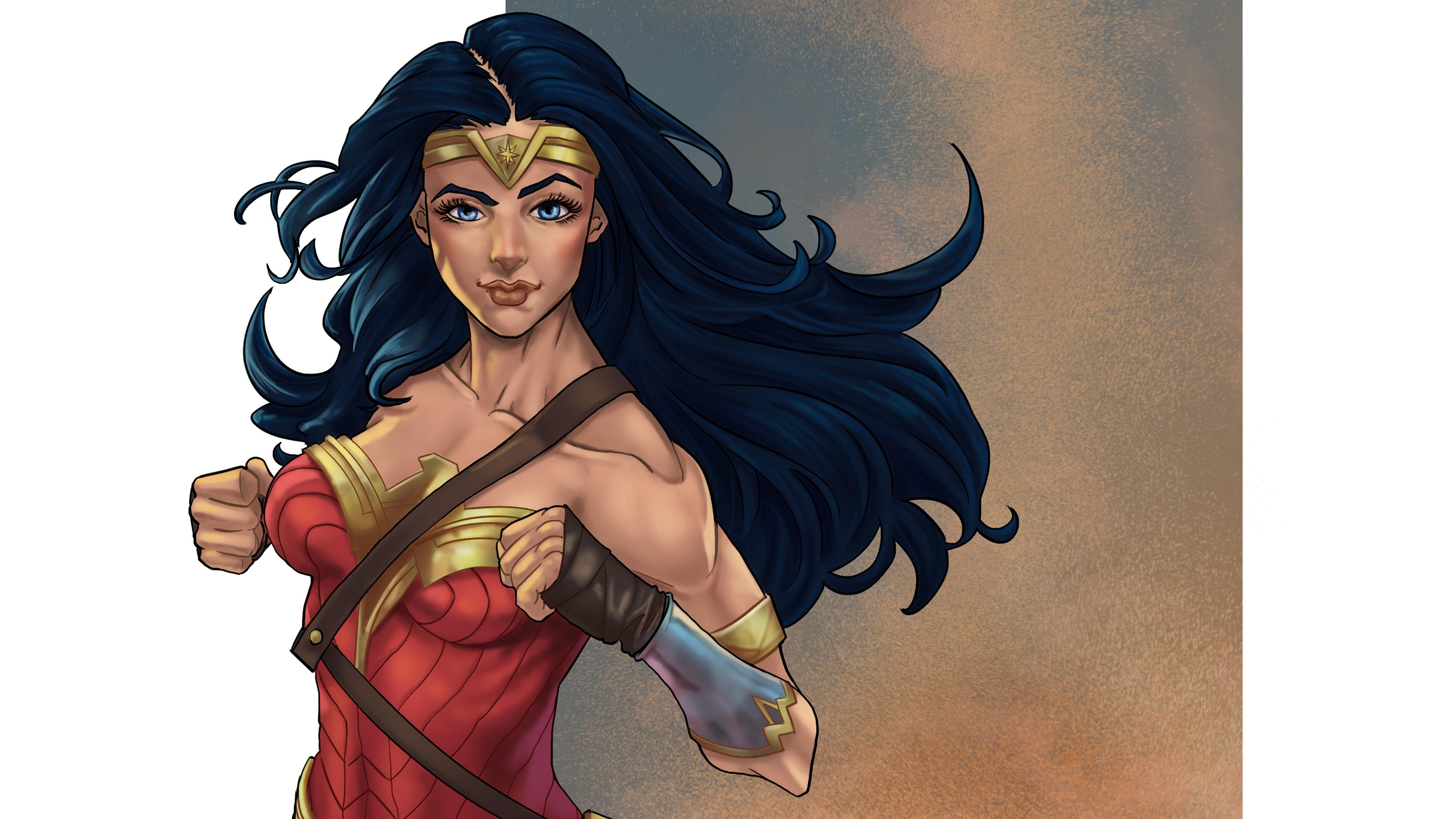 new wonder woman 4k 1553072048 - New Wonder Woman 4k - wonder woman wallpapers, superheroes wallpapers, hd-wallpapers, digital art wallpapers, behance wallpapers, artwork wallpapers, artist wallpapers, 4k-wallpapers
