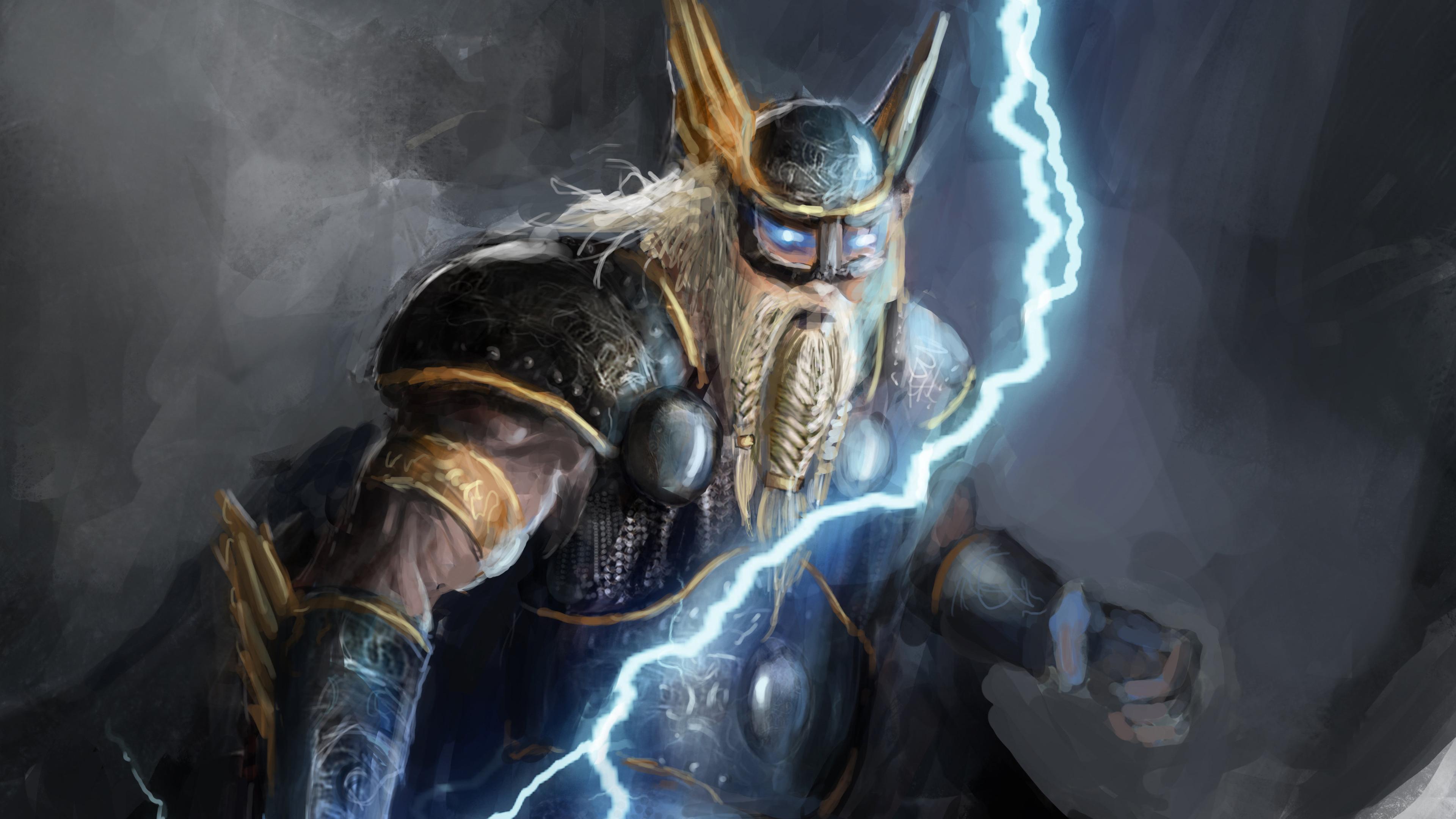 norse god of lightning 4k 1553071272 - Norse God Of Lightning 4k - thor wallpapers, superheroes wallpapers, hd-wallpapers, digital art wallpapers, artwork wallpapers, artist wallpapers, 4k-wallpapers