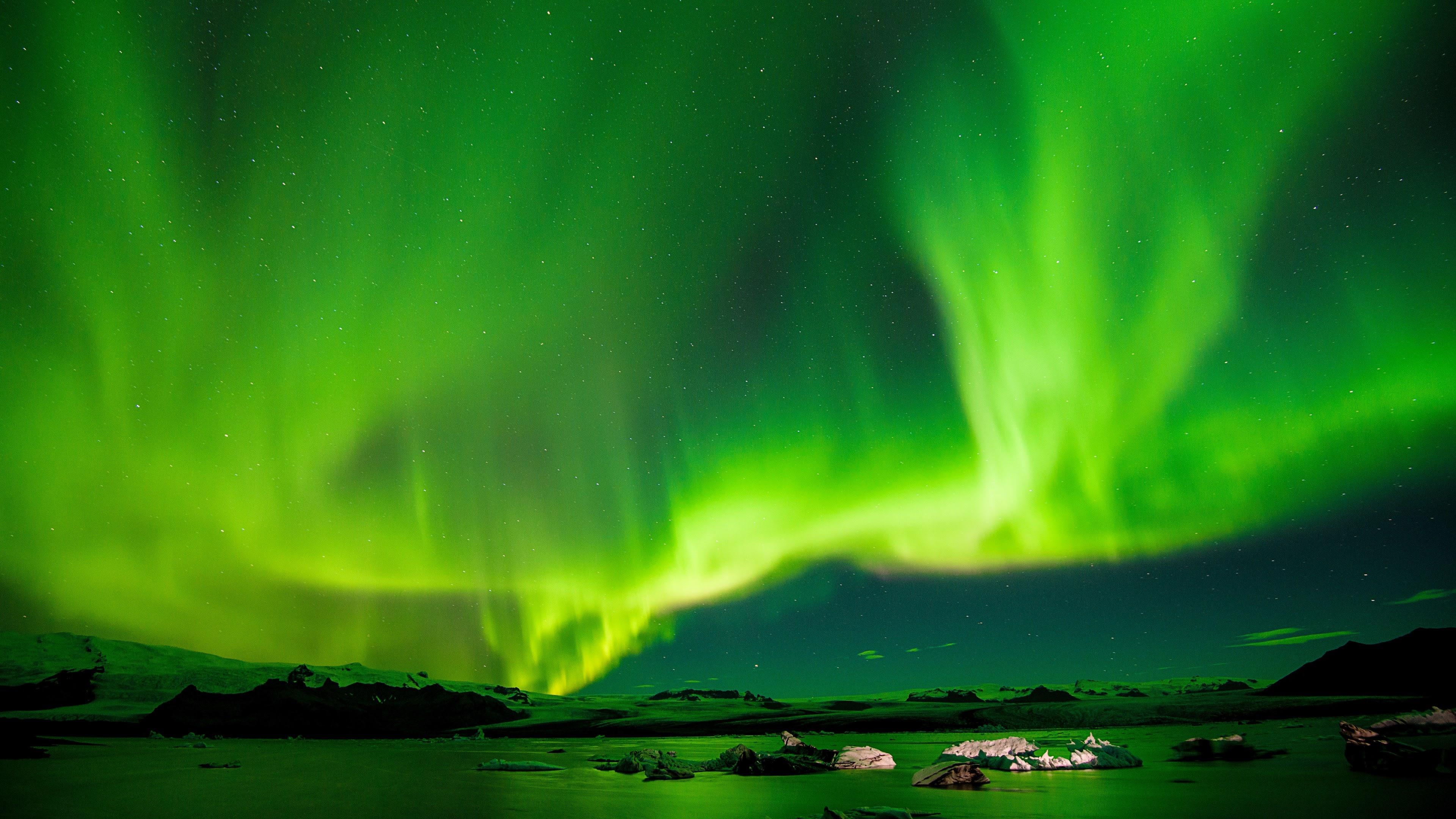 northern lights aurora 4k 1551643973 - Northern Lights Aurora 4k - northern lights wallpapers, nature wallpapers, hd-wallpapers, green wallpapers, aurora wallpapers, 4k-wallpapers