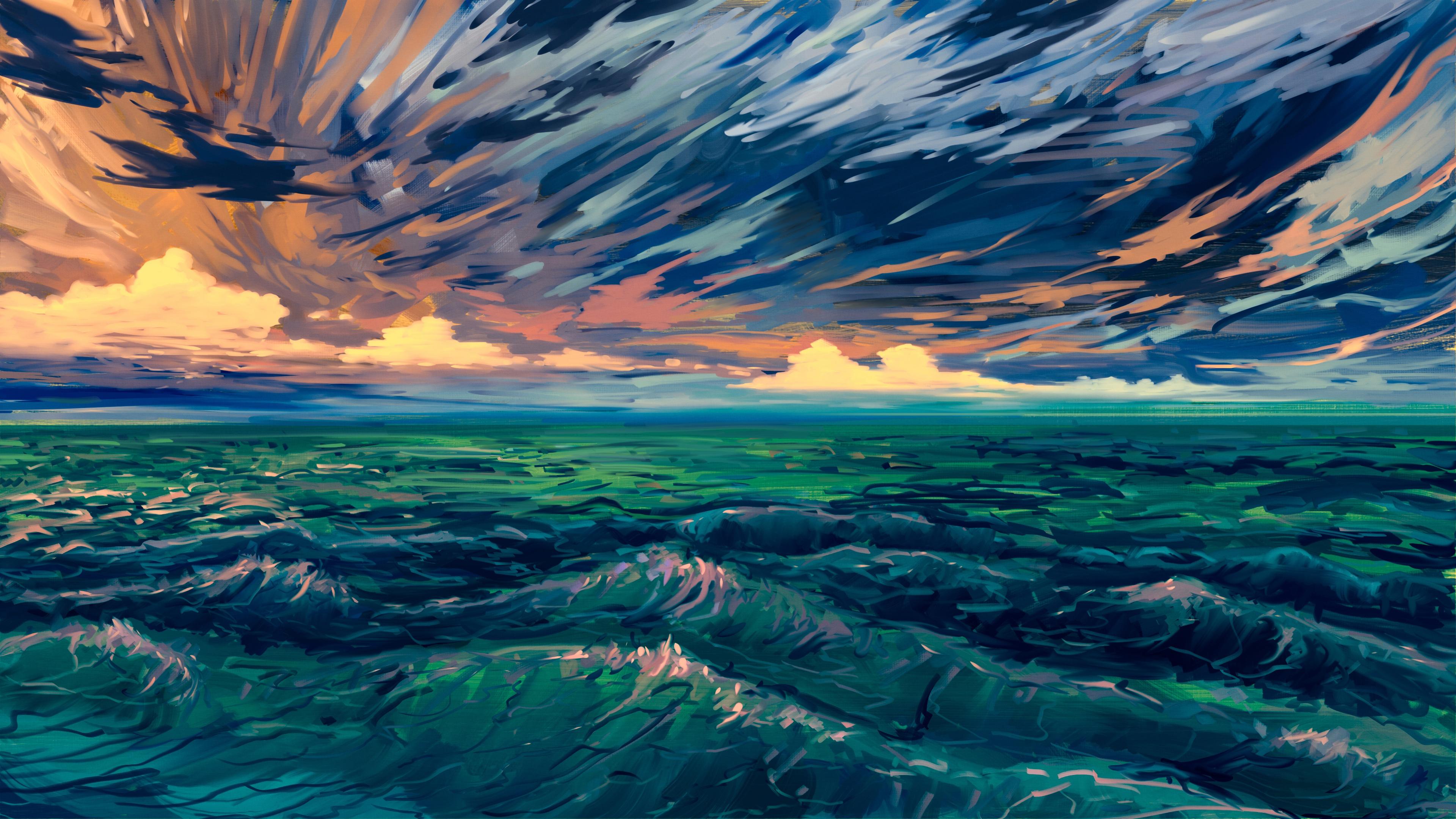 4k Wallpaper Landscape Art