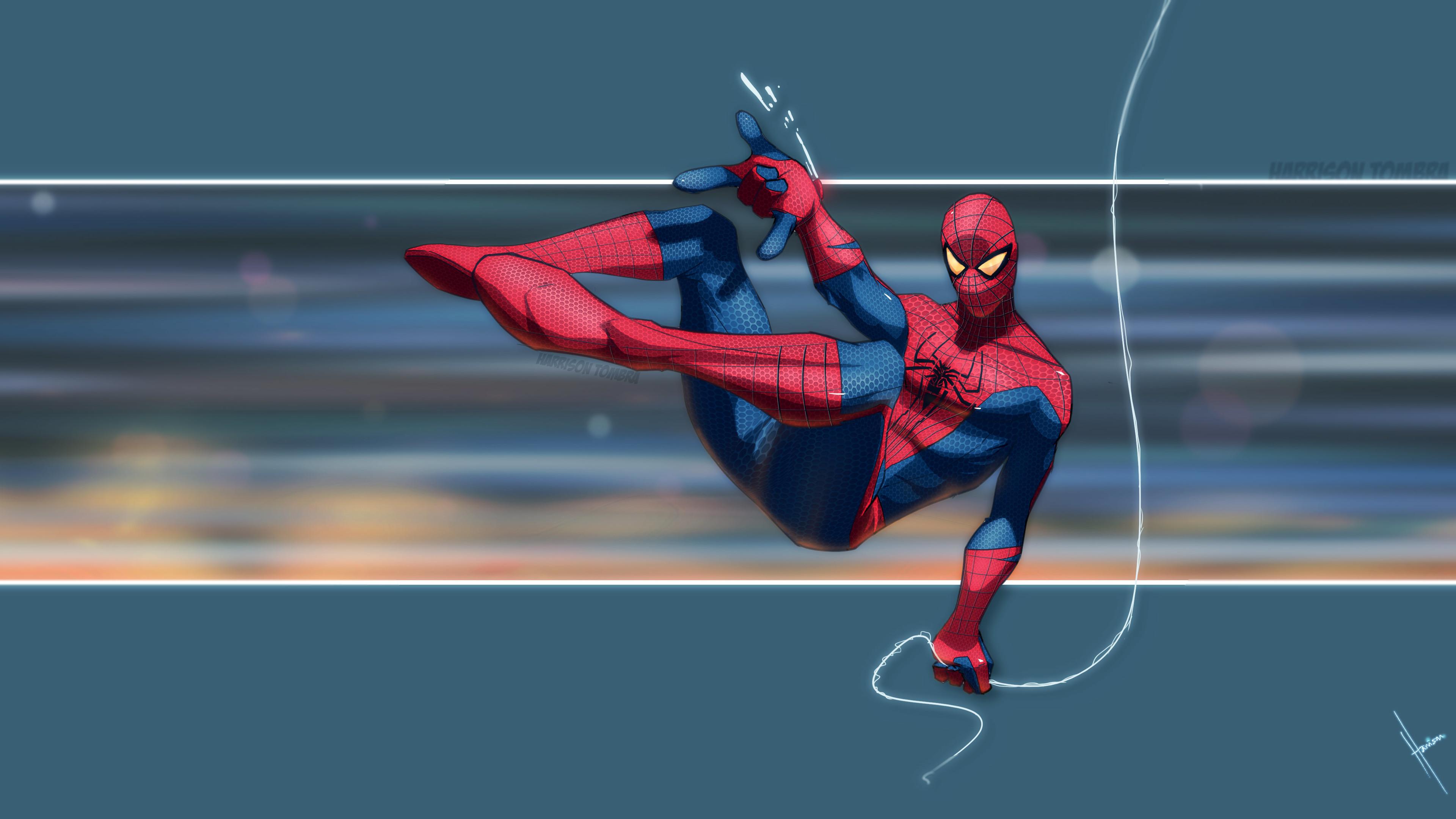 spider boy 4k 1553070995 - Spider Boy 4k - superheroes wallpapers, spiderman wallpapers, hd-wallpapers, digital art wallpapers, deviantart wallpapers, artwork wallpapers, 5k wallpapers, 4k-wallpapers