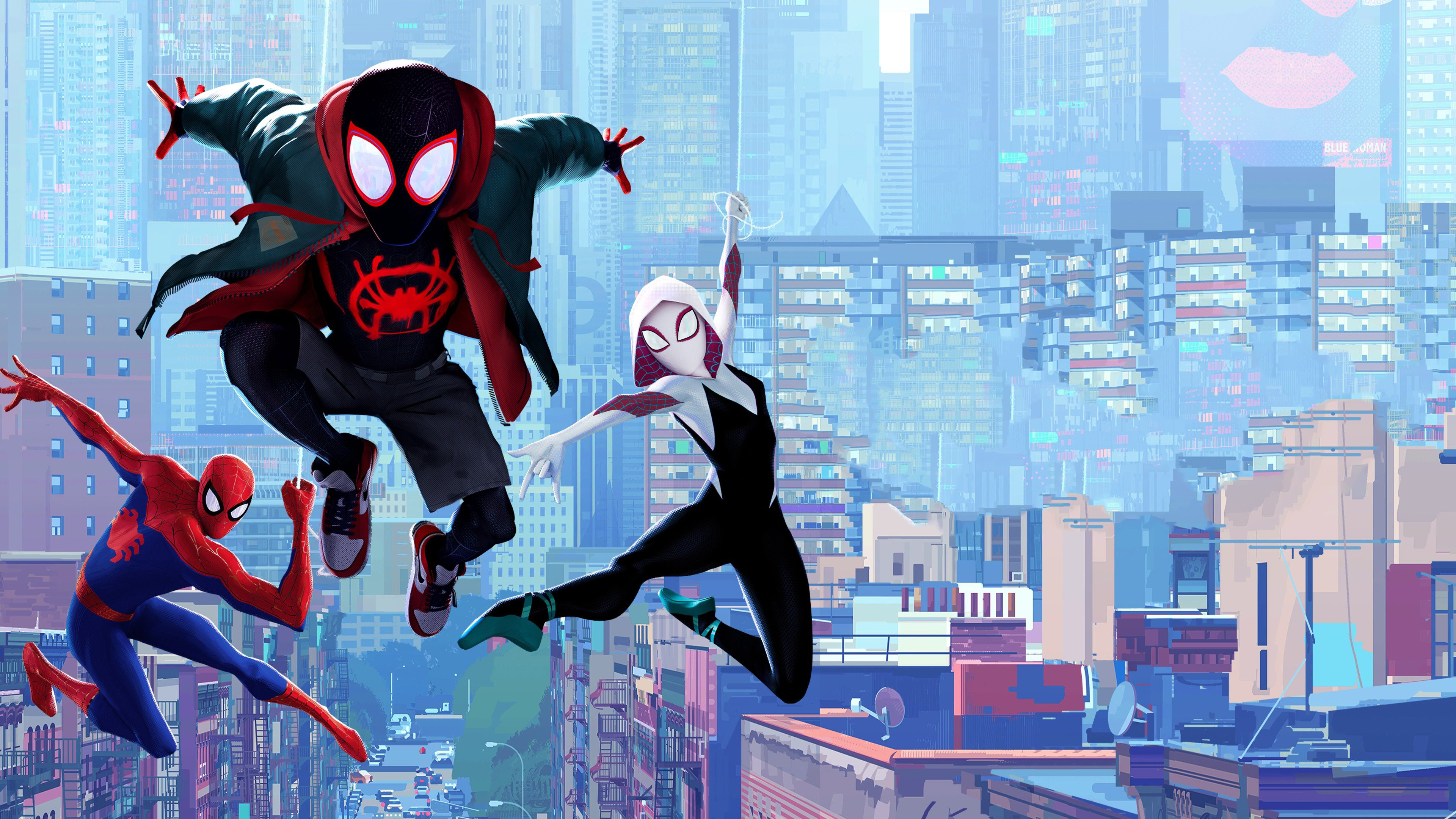 Wallpaper 4k Spider Verse 4k 4k Wallpapers Hd Wallpapers Movies