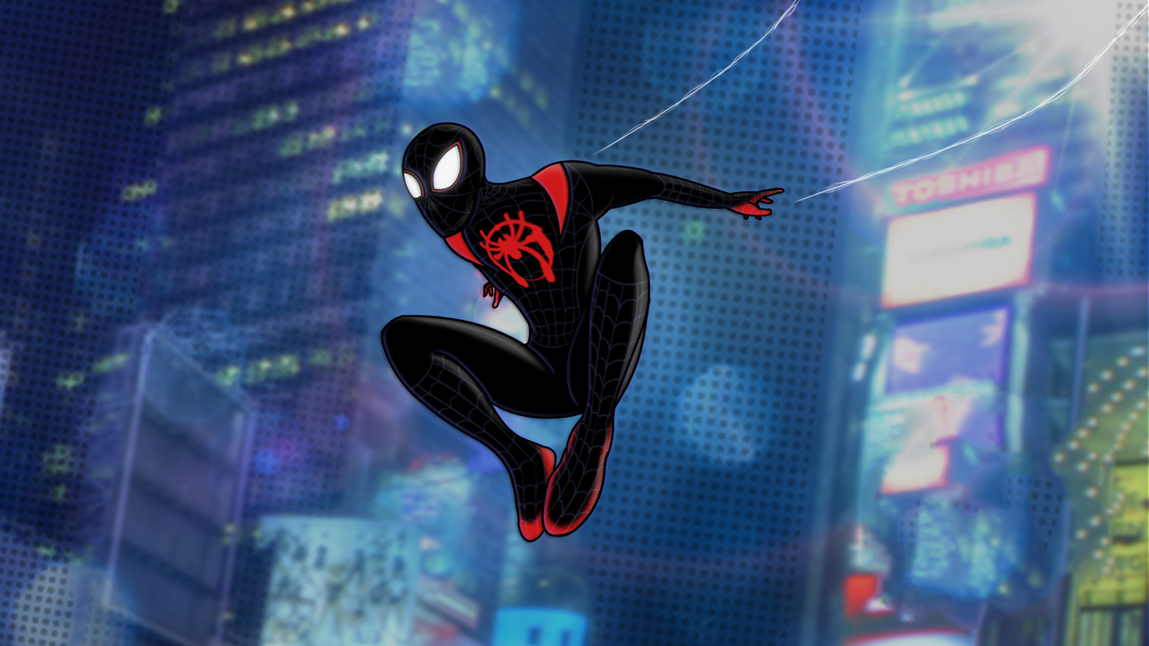 Wallpaper 4k Spiderman Miles Morales Digital Artwork 4k Artist