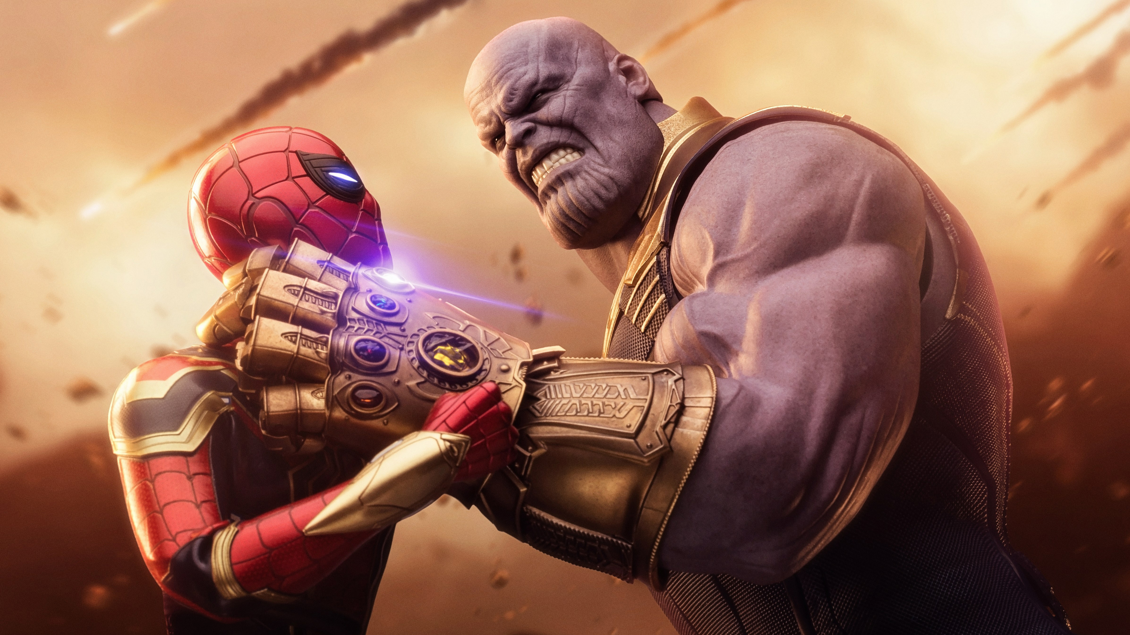 Wallpaper 4k Spiderman Thanos Avengers Infinity War 4k 4k Wallpapers 5k Wallpapers Artwork Wallpapers Digital Art Wallpapers Hd Wallpapers Spiderman Wallpapers Superheroes Wallpapers Thanos Wallpapers