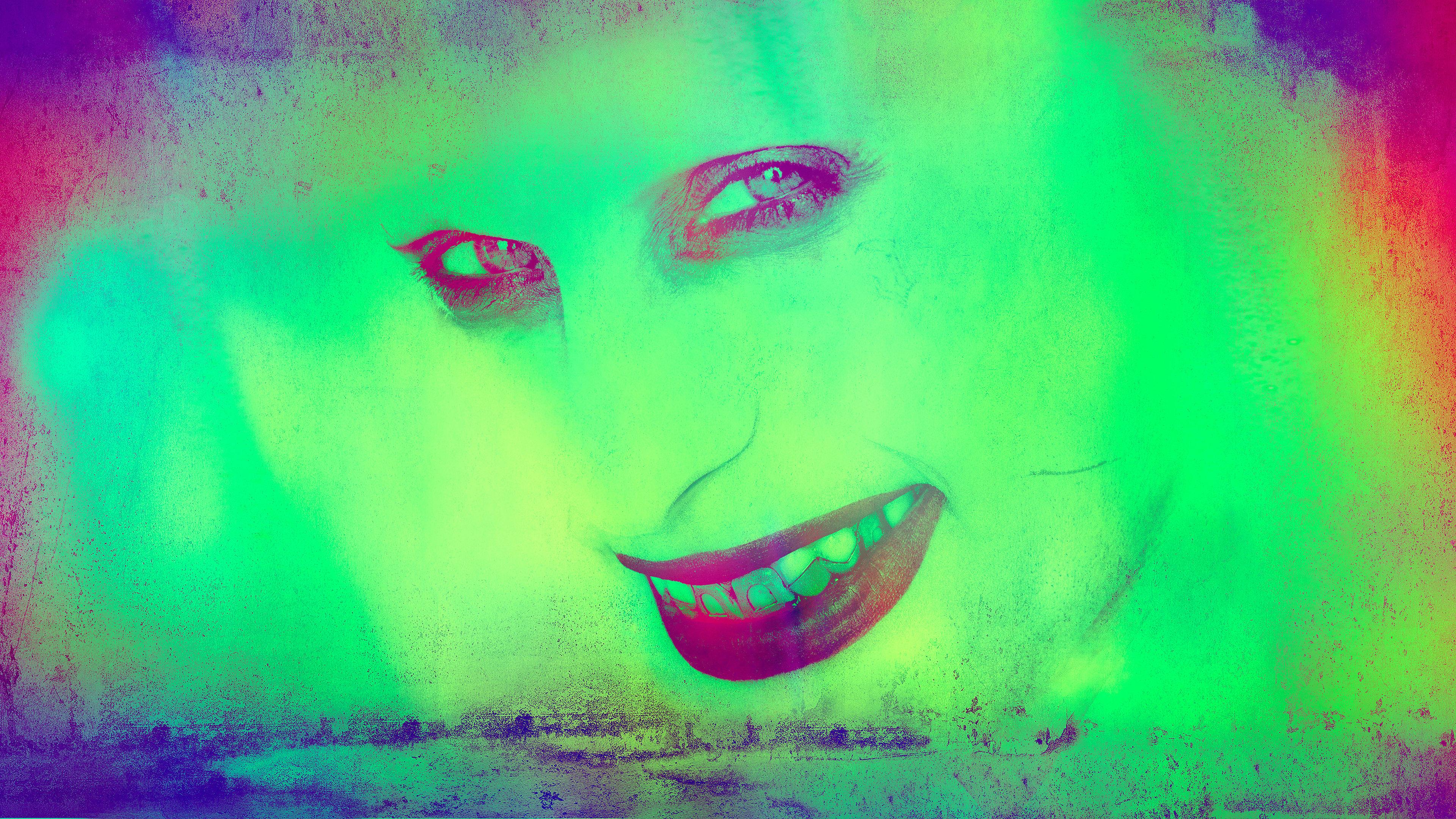2048x2048 Deadpool 2 Movie Poster 4k Ipad Air Hd 4k: Sucide Squad Joker Green 4k Supervillain Wallpapers