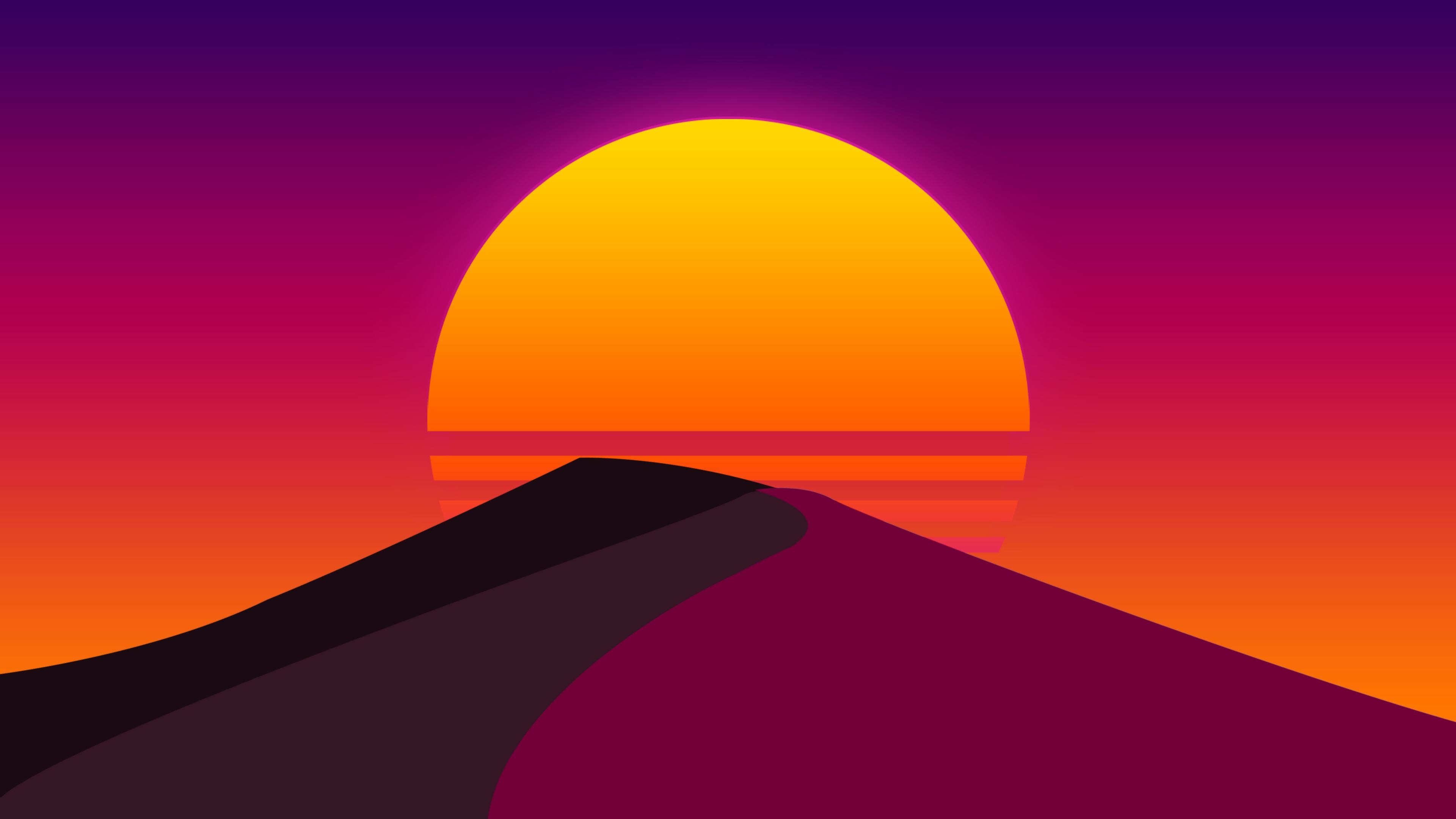 sun desert abstract artwork 1551645496 - Sun Desert Abstract Artwork - reddit wallpapers, hd-wallpapers, digital art wallpapers, artwork wallpapers, abstract wallpapers, 4k-wallpapers