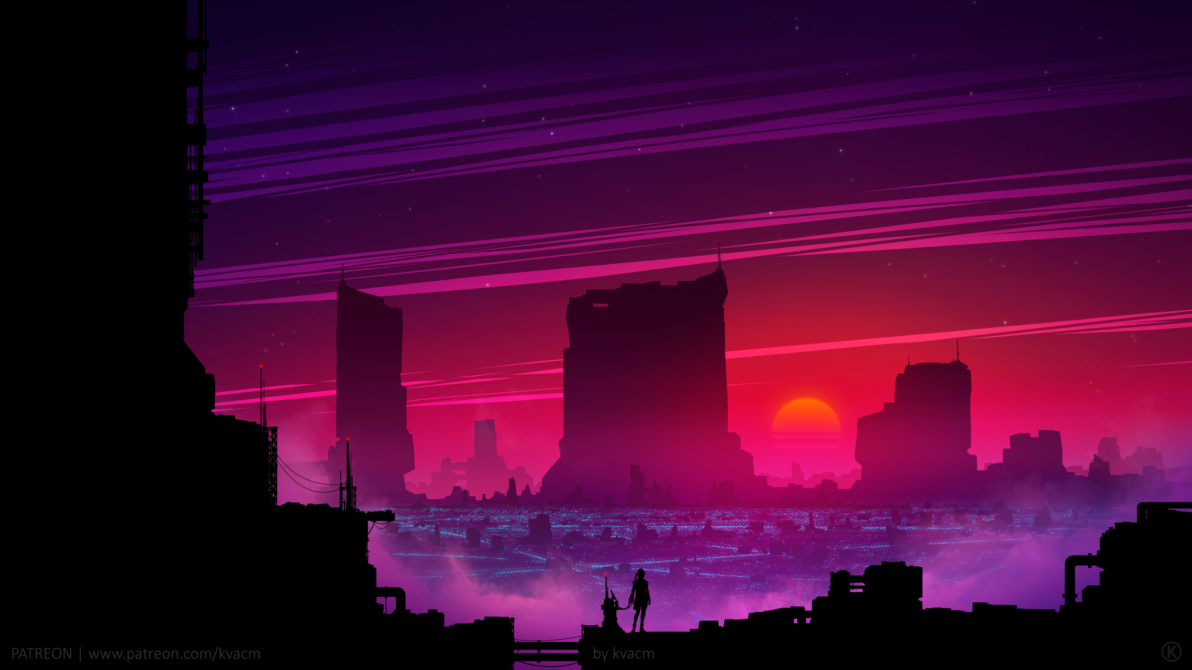 21+ Synthwave Wallpaper 1920X1080 Hd