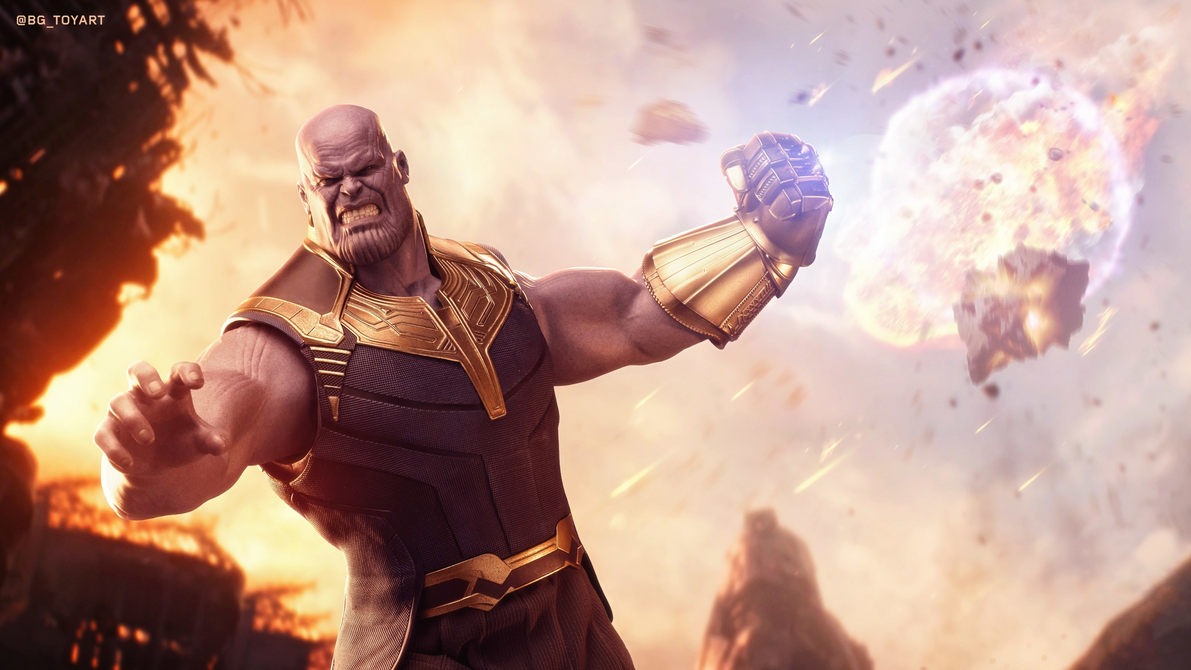 Wallpaper 4k Thanos Avengers Infinity War 4k 4k Wallpapers