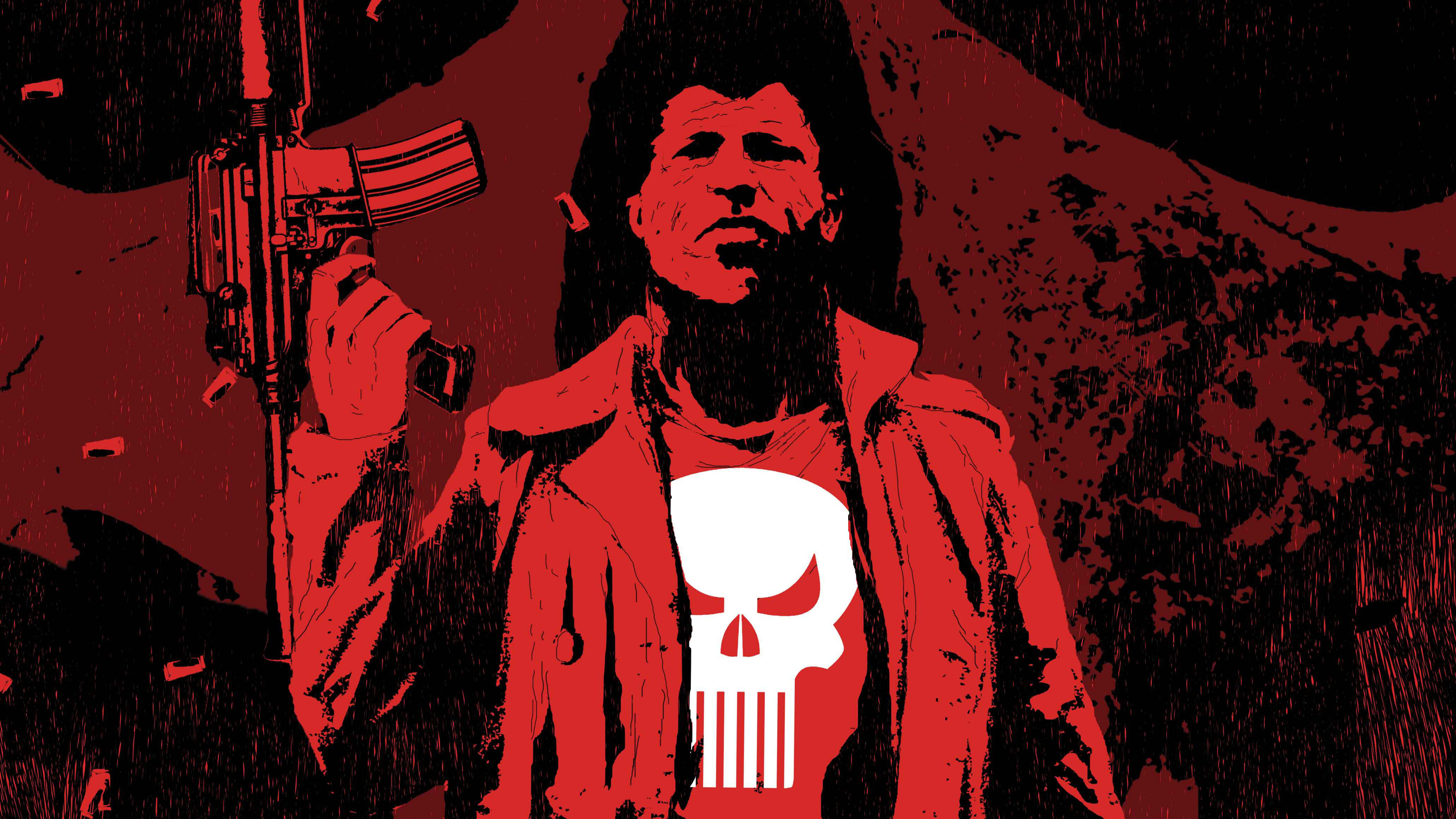 Wallpaper 4k The Punisher Art 4k 4k Wallpapers Artist