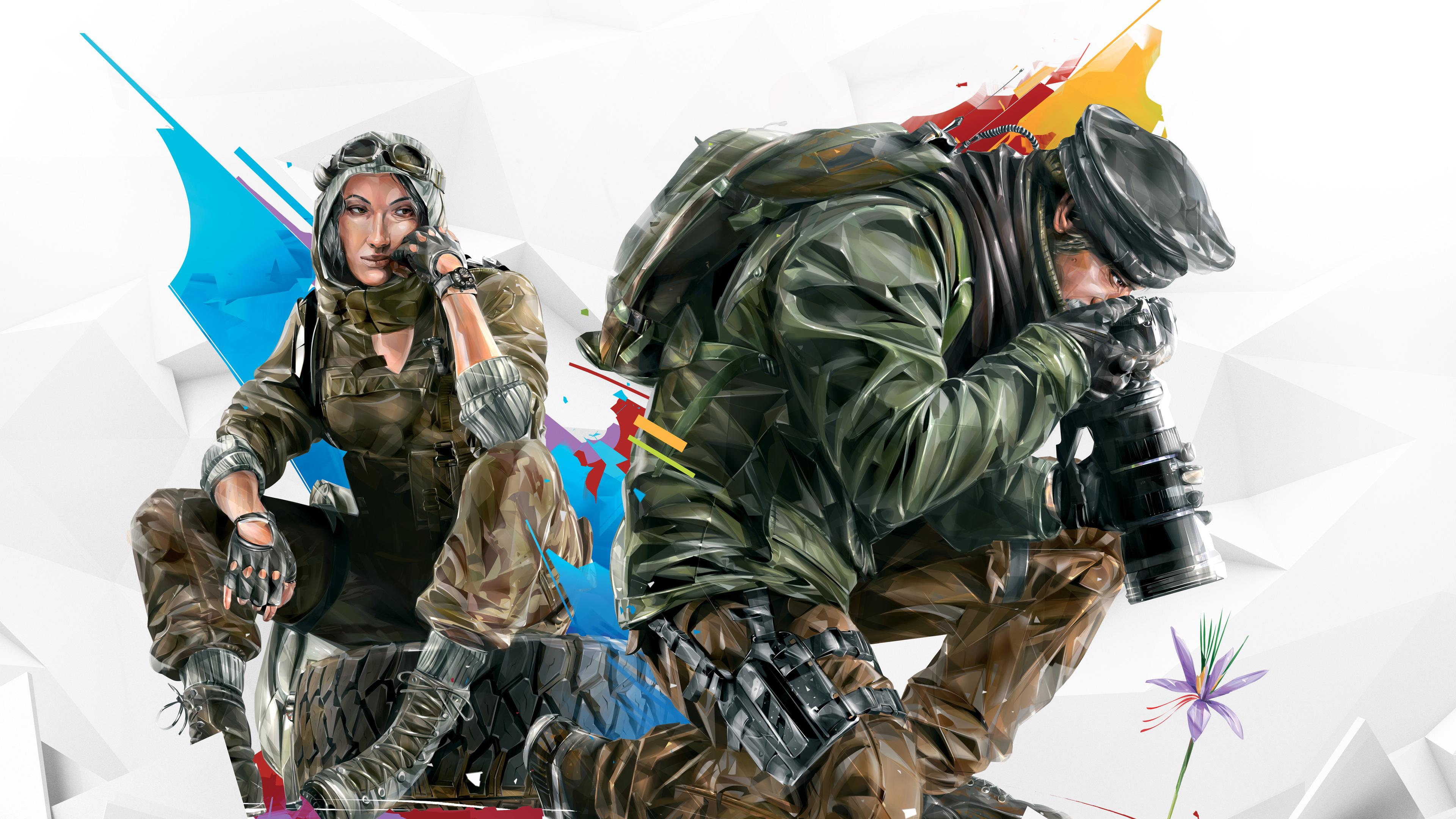 Wallpaper 4k Tom Clancys Rainbow Six Siege Operation Burnt
