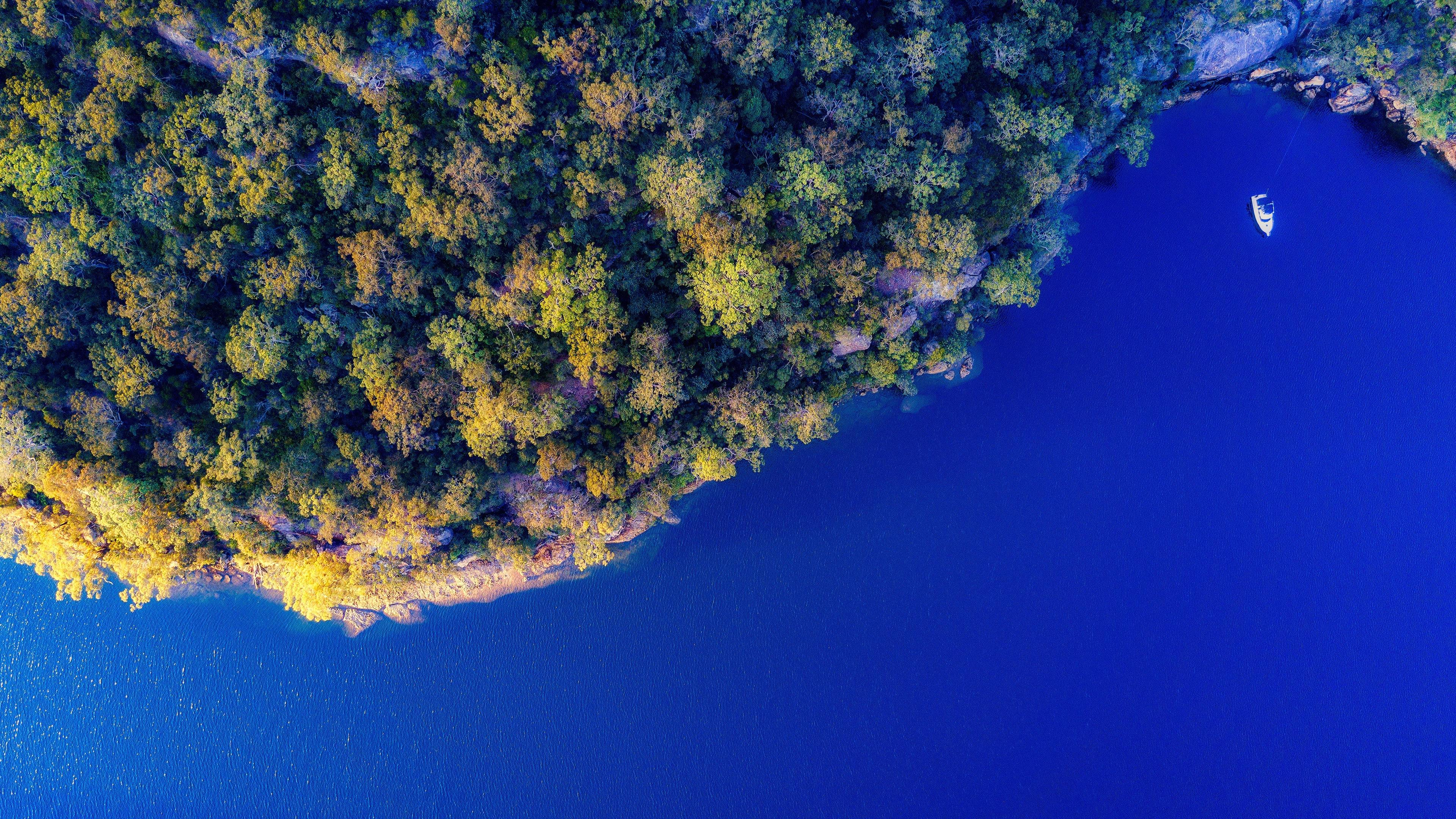 top view of island 4k 1551644267 - Top View Of Island 4k - photography wallpapers, nature wallpapers, island wallpapers, hd-wallpapers, aerial wallpapers, 4k-wallpapers