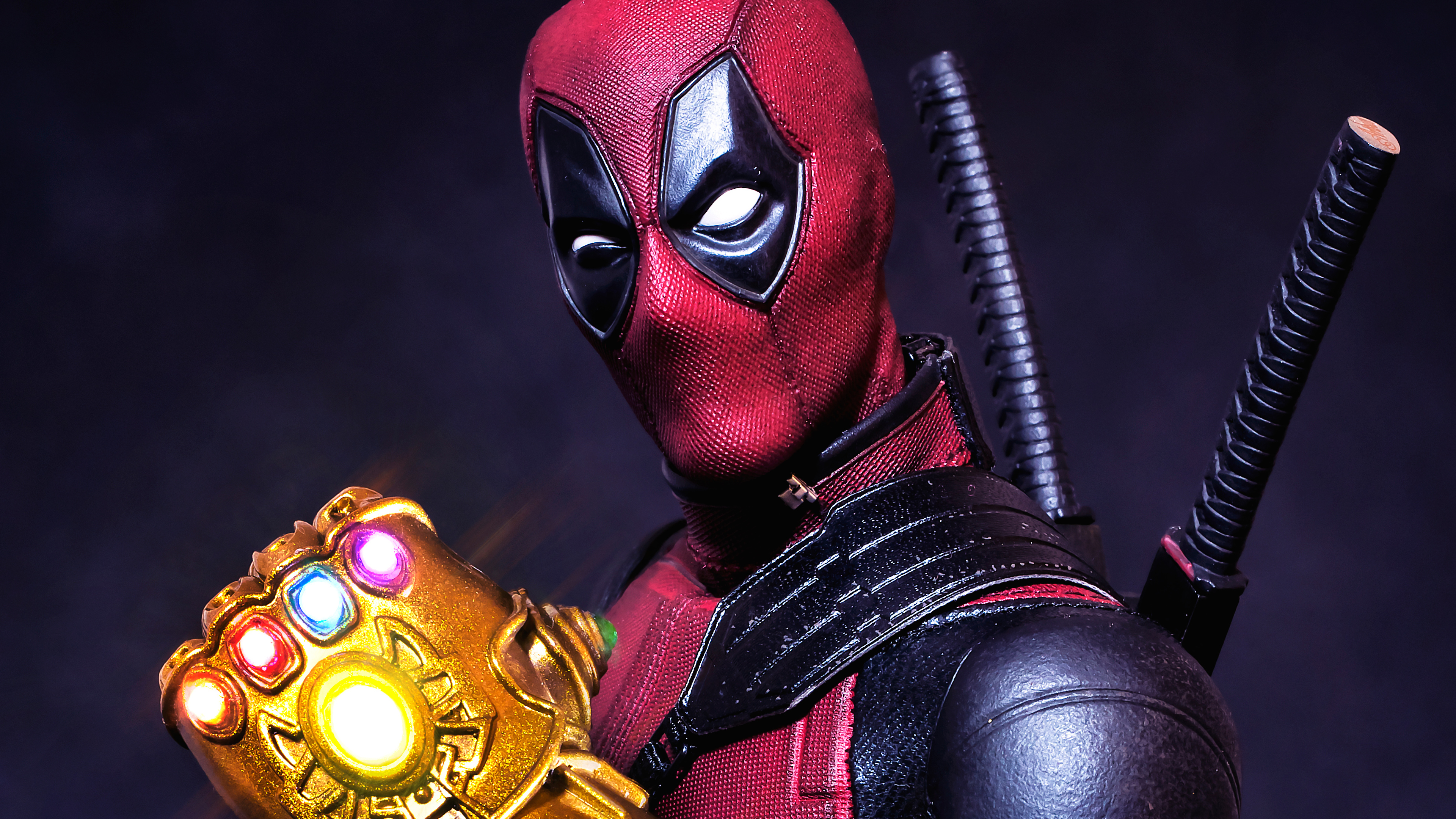 what if deadpool had the gauntlet 4k 1553071894 - What If Deadpool Had The Gauntlet 4k - superheroes wallpapers, hd-wallpapers, flickr wallpapers, deadpool wallpapers, 4k-wallpapers
