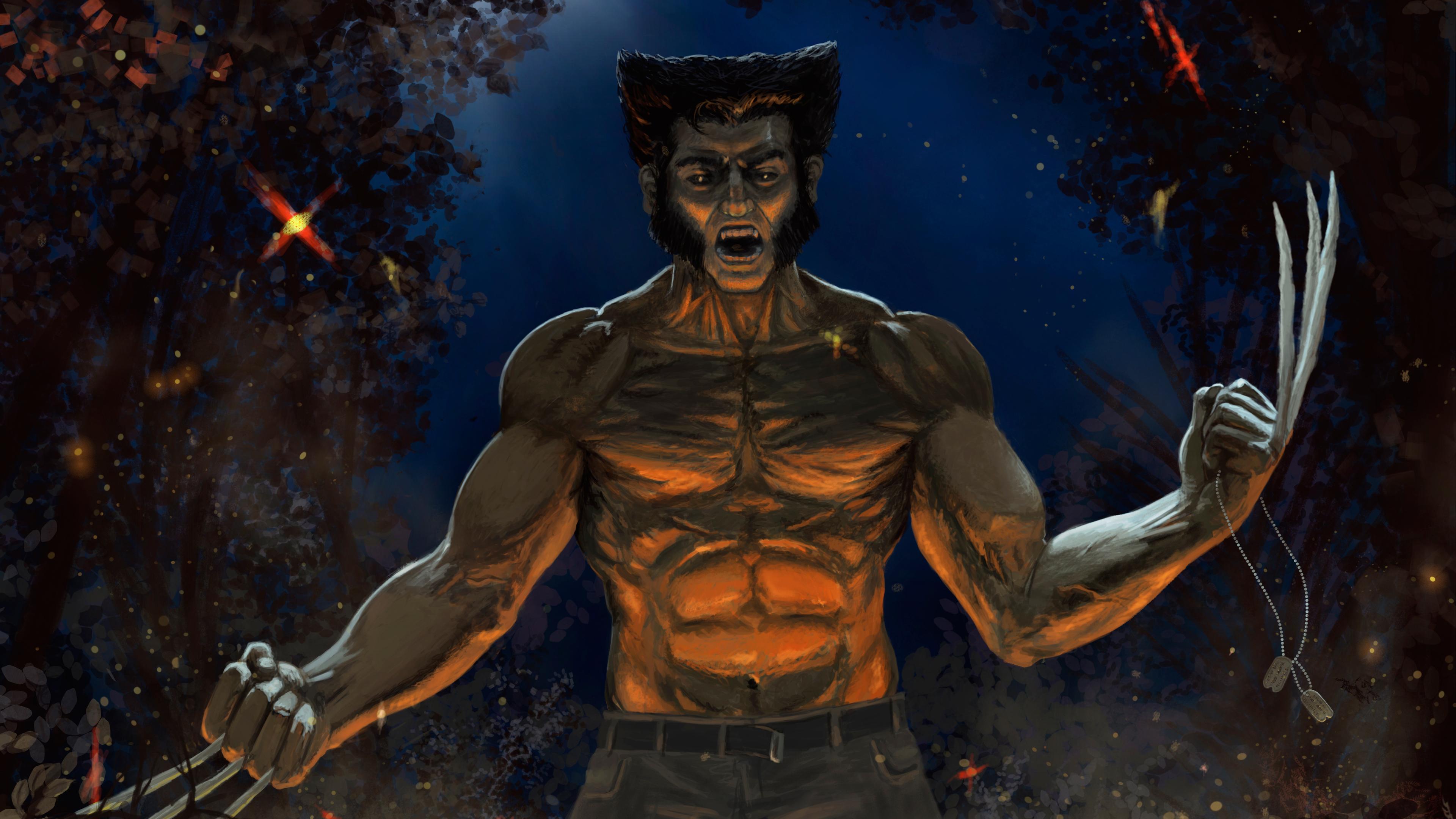 wolverine artwork 4k 1553071397 - Wolverine Artwork 4k - wolverine wallpapers, superheroes wallpapers, hd-wallpapers, artwork wallpapers, artist wallpapers, 5k wallpapers, 4k-wallpapers
