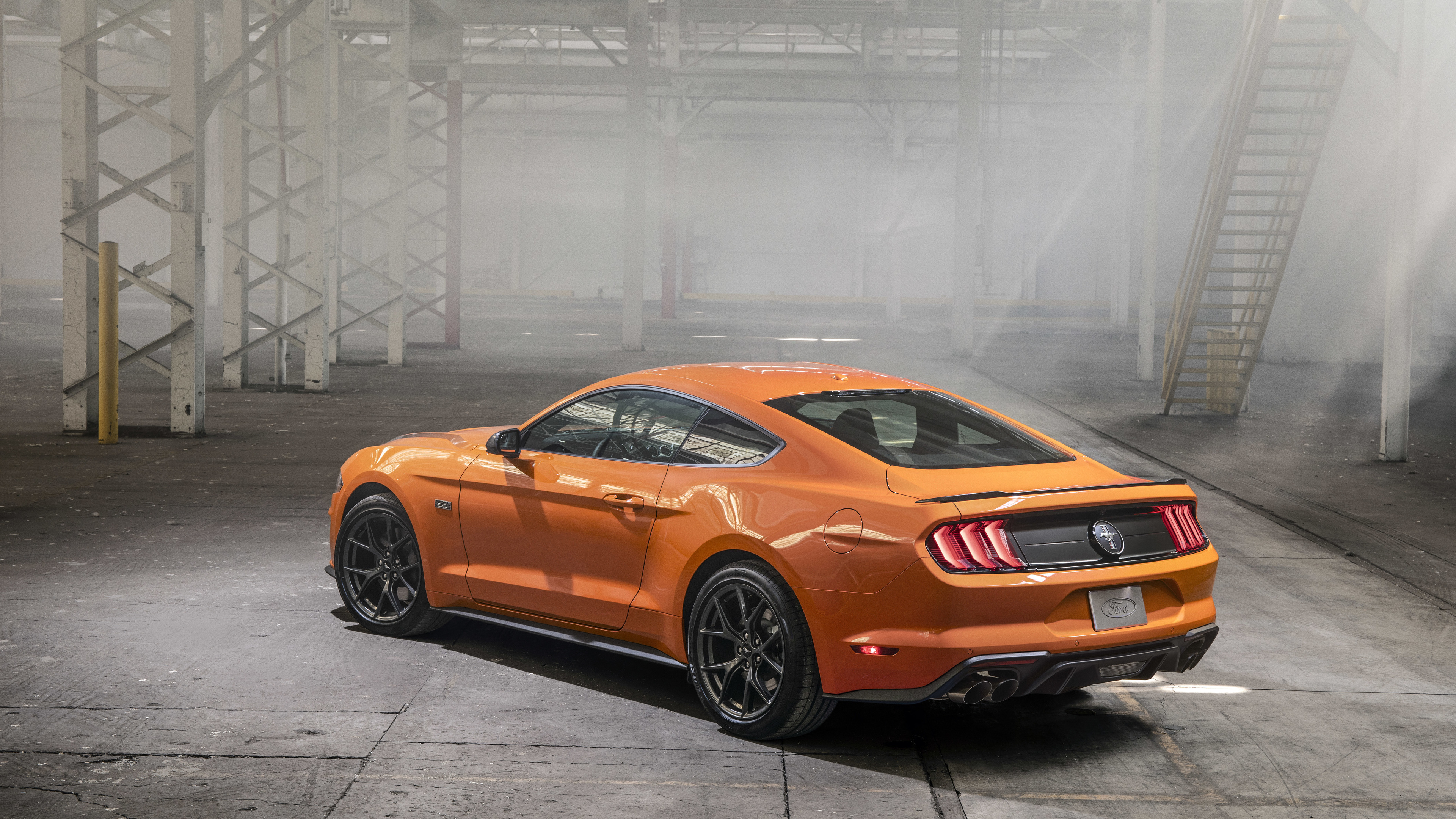 2020 Ford Mustang EcoBoost High Performance Package 4k