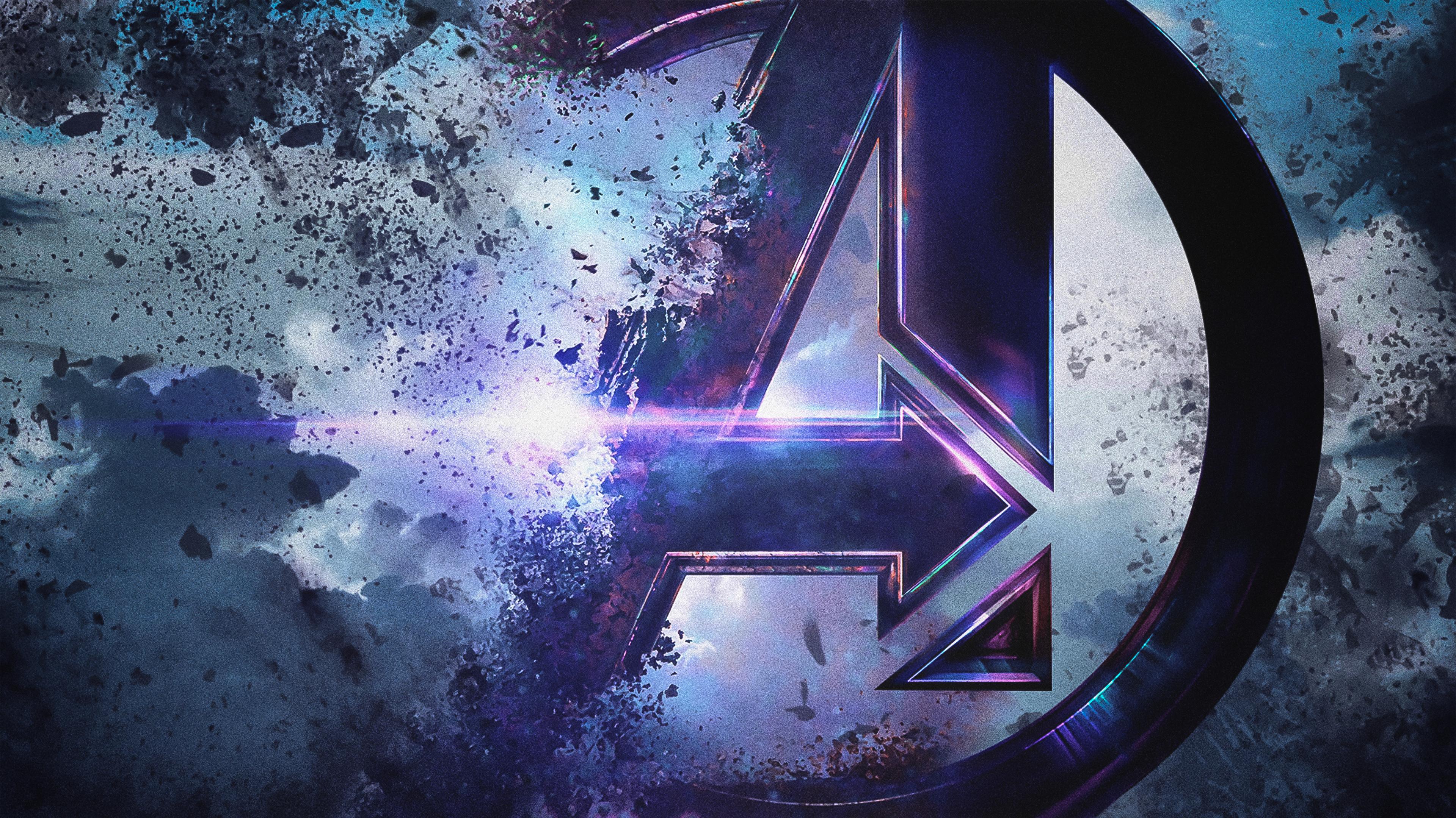 4k avengers endgame 1555208797 - 4k Avengers Endgame - movies wallpapers, logo wallpapers, hd-wallpapers, avengers endgame wallpapers, 4k-wallpapers, 2019 movies wallpapers