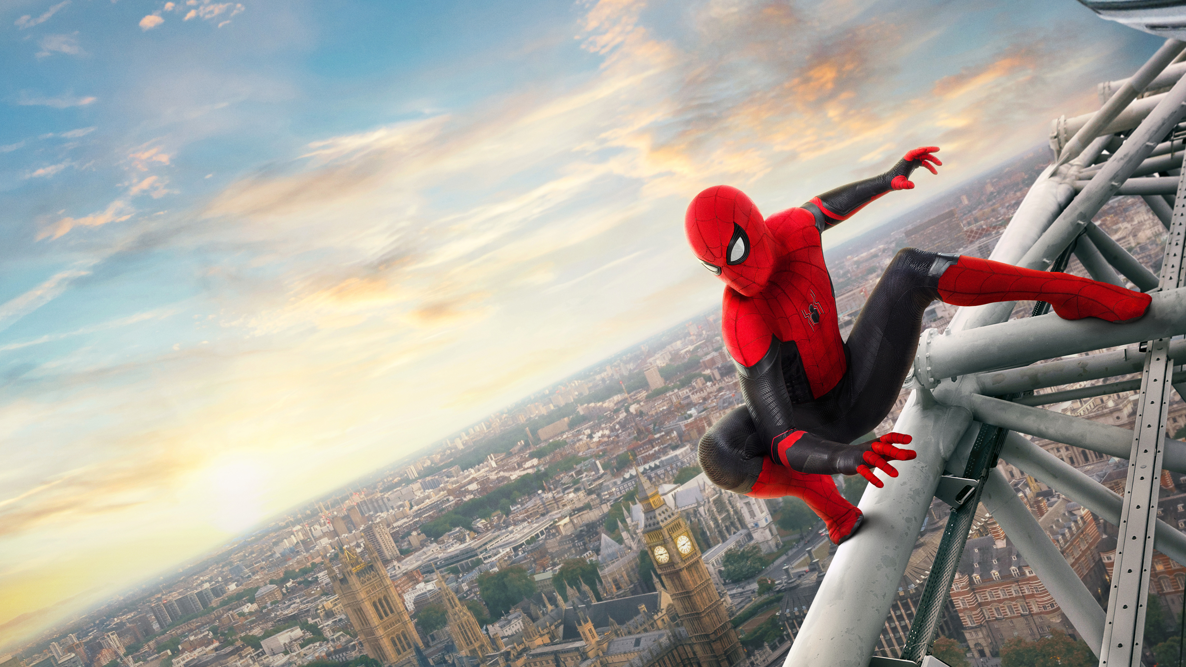4k spider man far from home 1555208792 - 4k Spider Man Far From Home - tom holland wallpapers, superheroes wallpapers, spiderman wallpapers, spiderman far from home wallpapers, movies wallpapers, hd-wallpapers, 4k-wallpapers, 2019 movies wallpapers