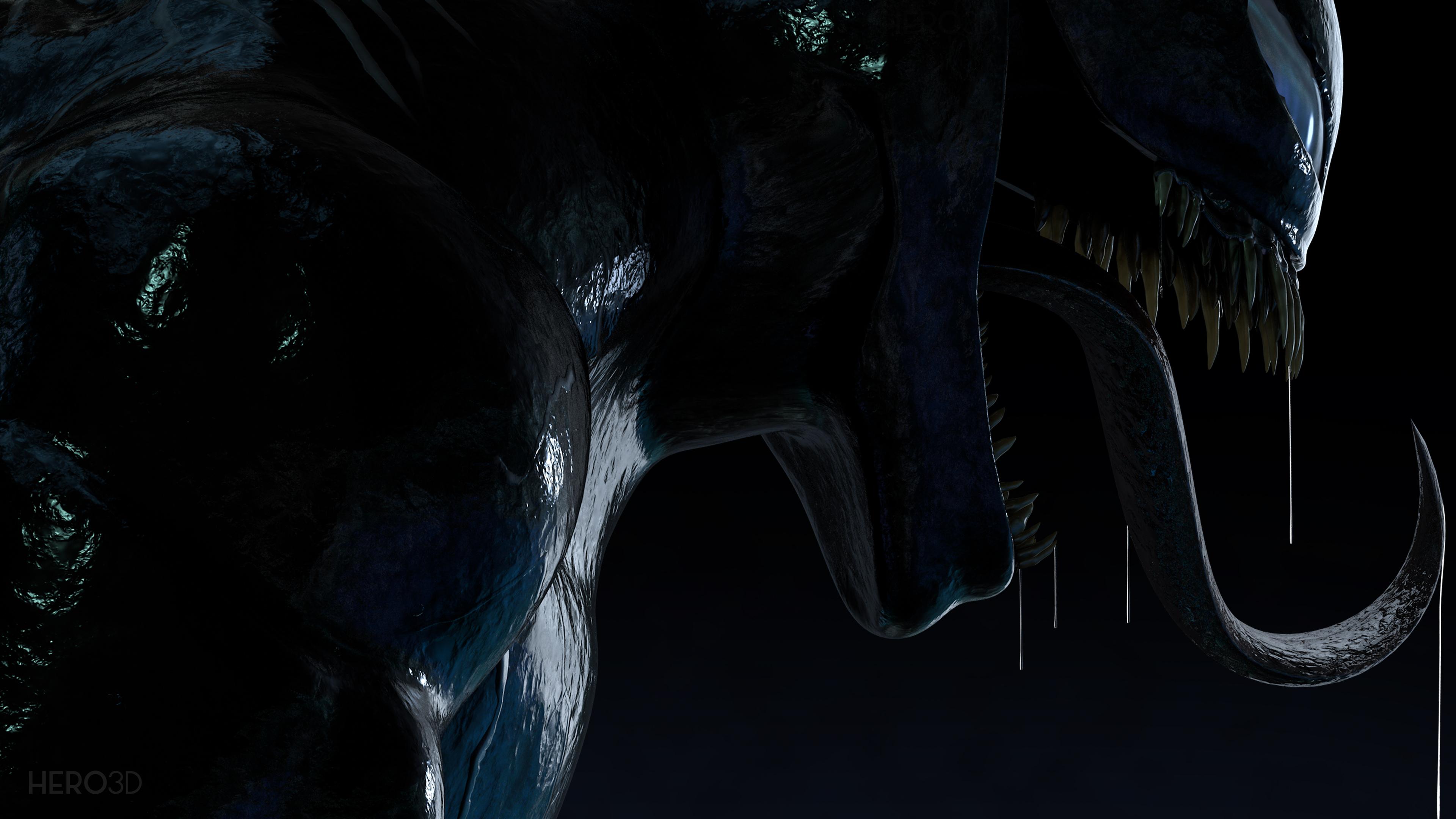 4k venom new digital artwork 1554244968 - 4k Venom New Digital Artwork - Venom wallpapers, supervillain wallpapers, superheroes wallpapers, hd-wallpapers, digital art wallpapers, deviantart wallpapers, artwork wallpapers, 4k-wallpapers