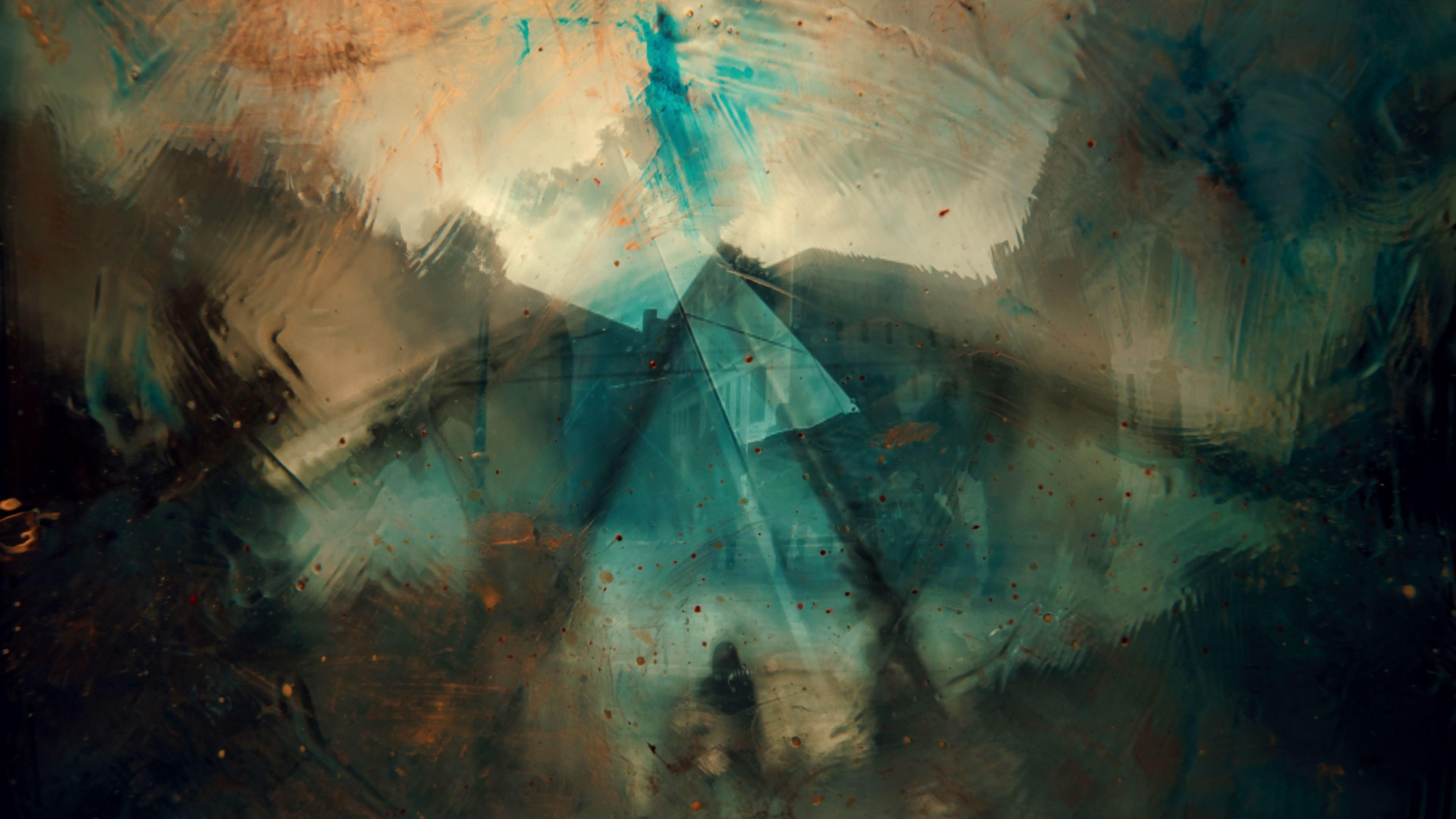 abstract urban pyramid 4k 1555208107 - Abstract Urban Pyramid 4k - hd-wallpapers, abstract wallpapers, 5k wallpapers, 4k-wallpapers