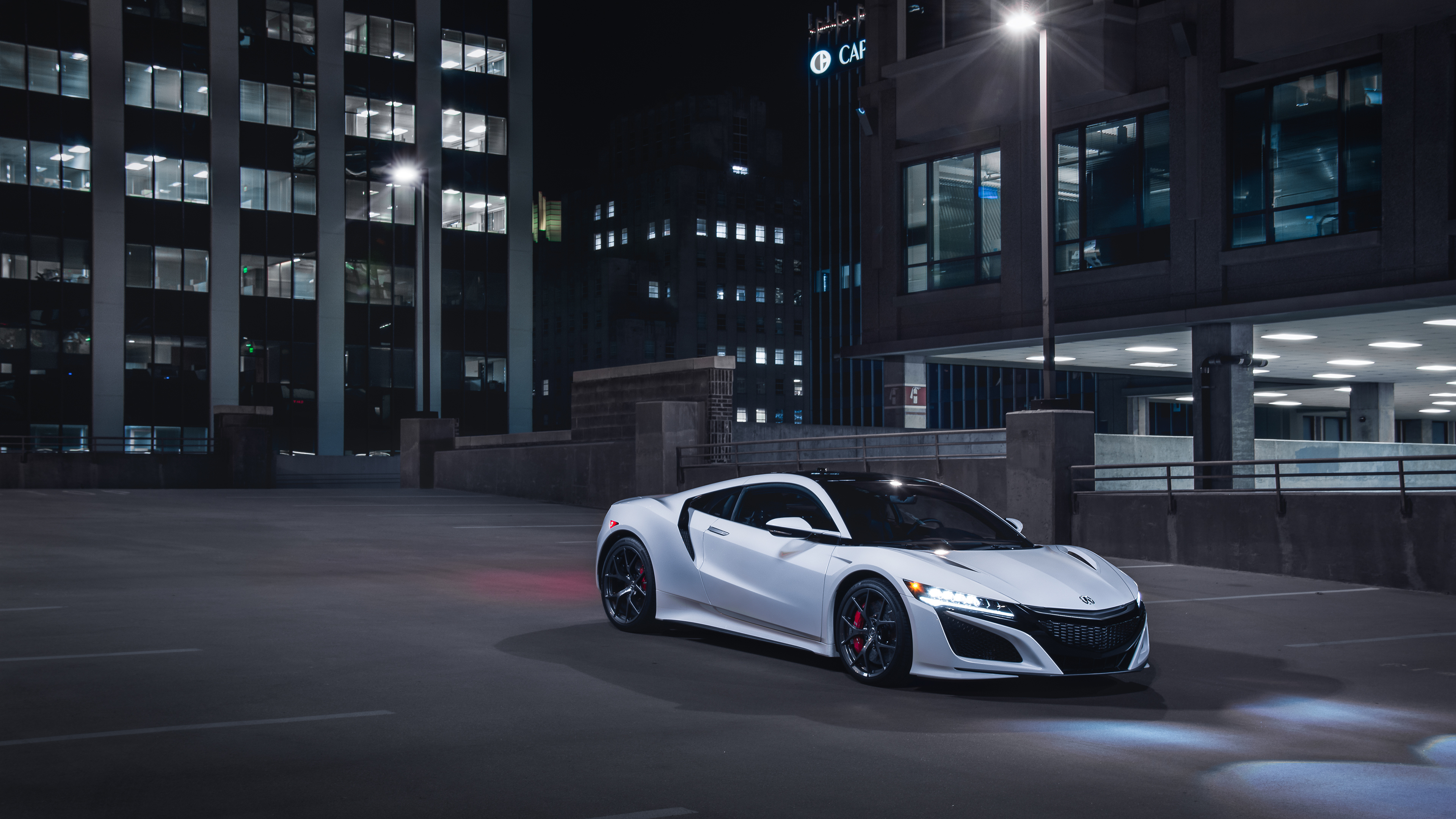 Wallpaper 4k Acura NSX 2019 Front View 4k 4k-wallpapers