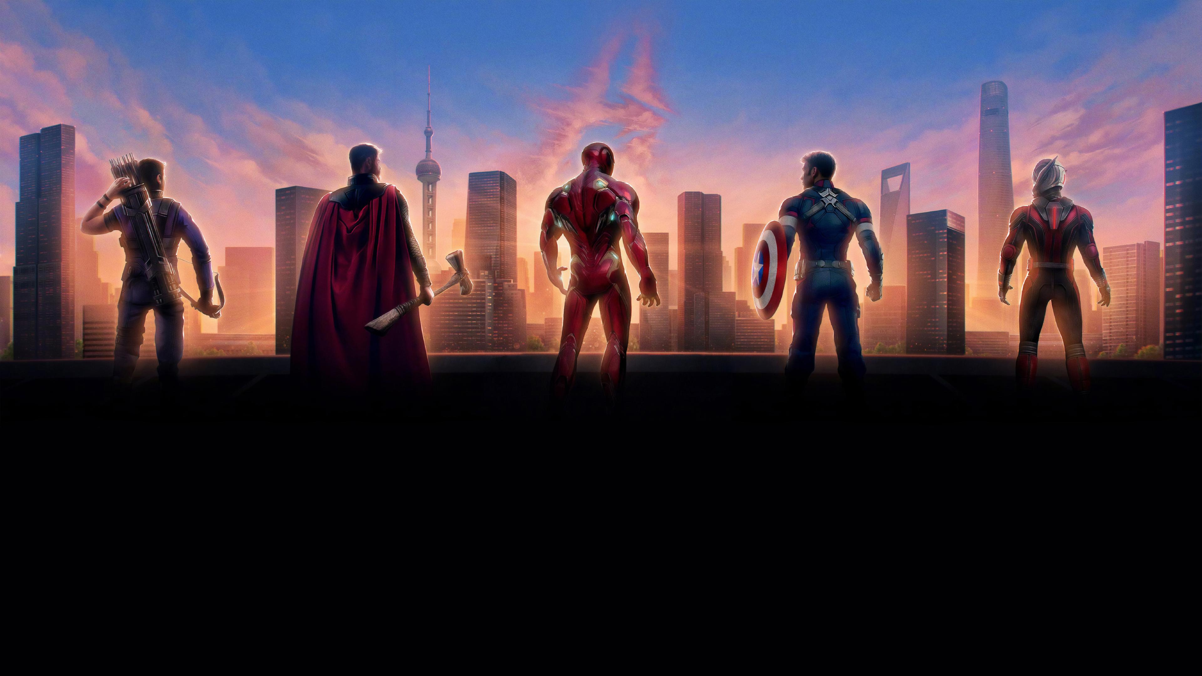 Wallpaper 4k Avengers Endgame 4k Chinese Poster 2019 Movies