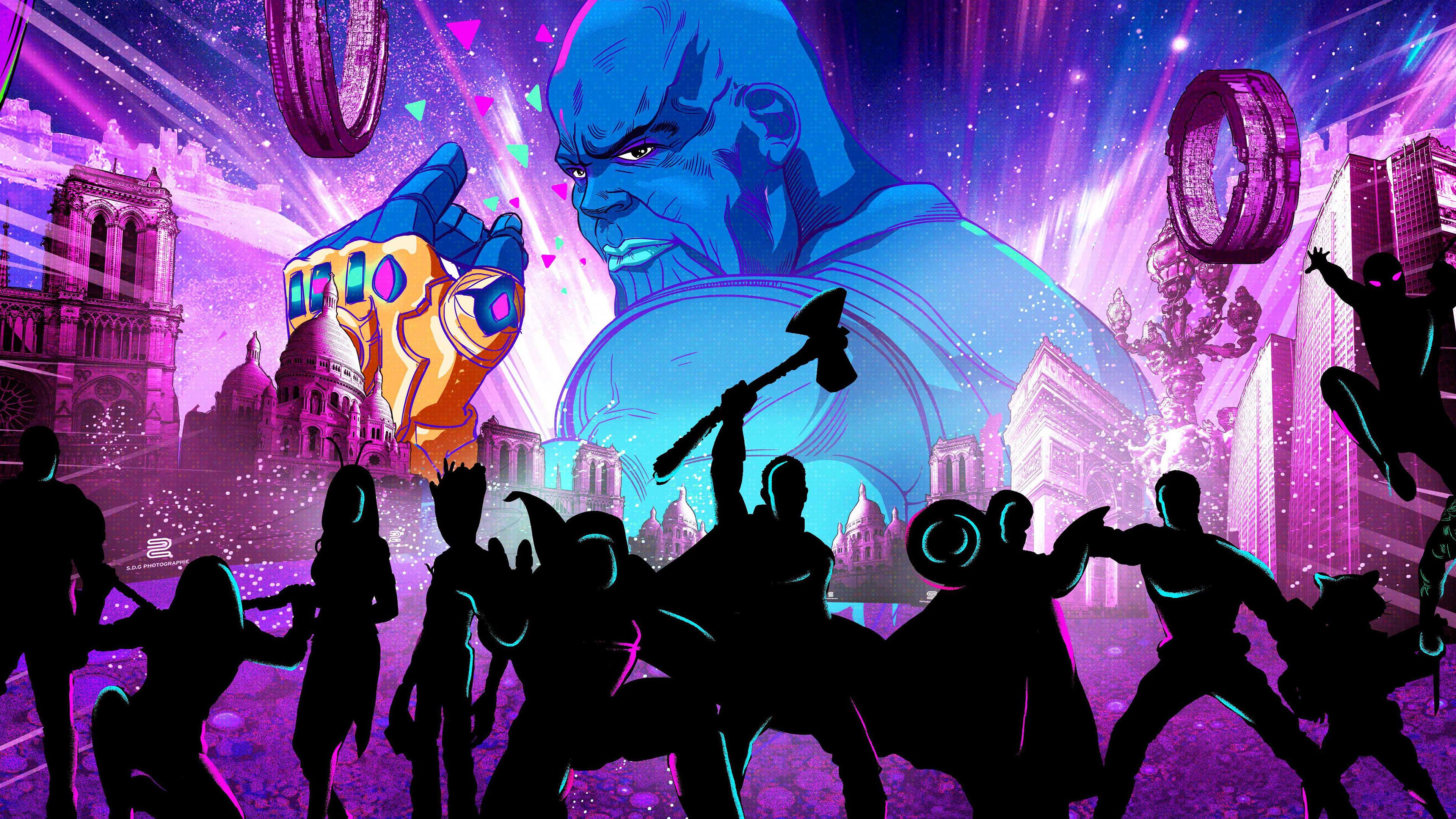 avengers endgame artwork 4k 1554245018 - Avengers Endgame Artwork 4k - thor wallpapers, thanos-wallpapers, superheroes wallpapers, movies wallpapers, iron man wallpapers, hd-wallpapers, captain america wallpapers, behance wallpapers, avengers endgame wallpapers, artwork wallpapers, 4k-wallpapers, 2019 movies wallpapers