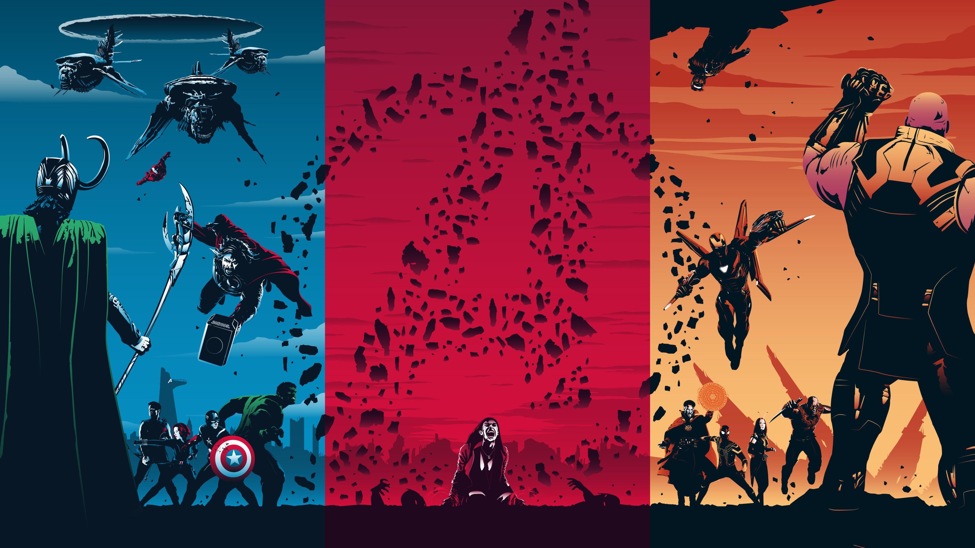 avengers trilogy 4k 1554244947 - Avengers Trilogy 4k - superheroes wallpapers, hd-wallpapers, digital art wallpapers, avengers-wallpapers, artwork wallpapers, 4k-wallpapers