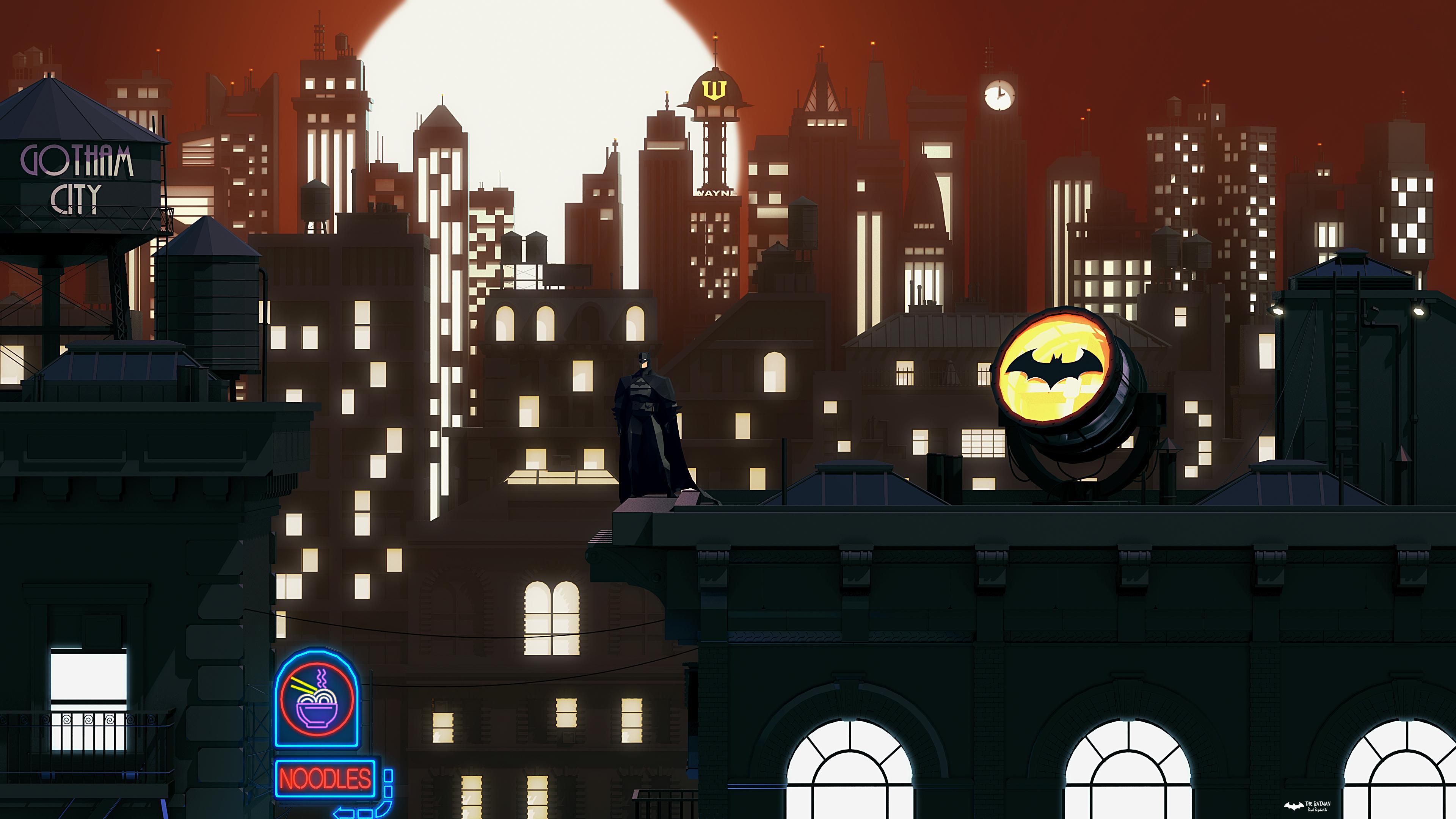 batman new gotham art 4k 1554244889 - Batman New Gotham Art 4k - superheroes wallpapers, hd-wallpapers, digital art wallpapers, behance wallpapers, batman wallpapers, artwork wallpapers, 4k-wallpapers