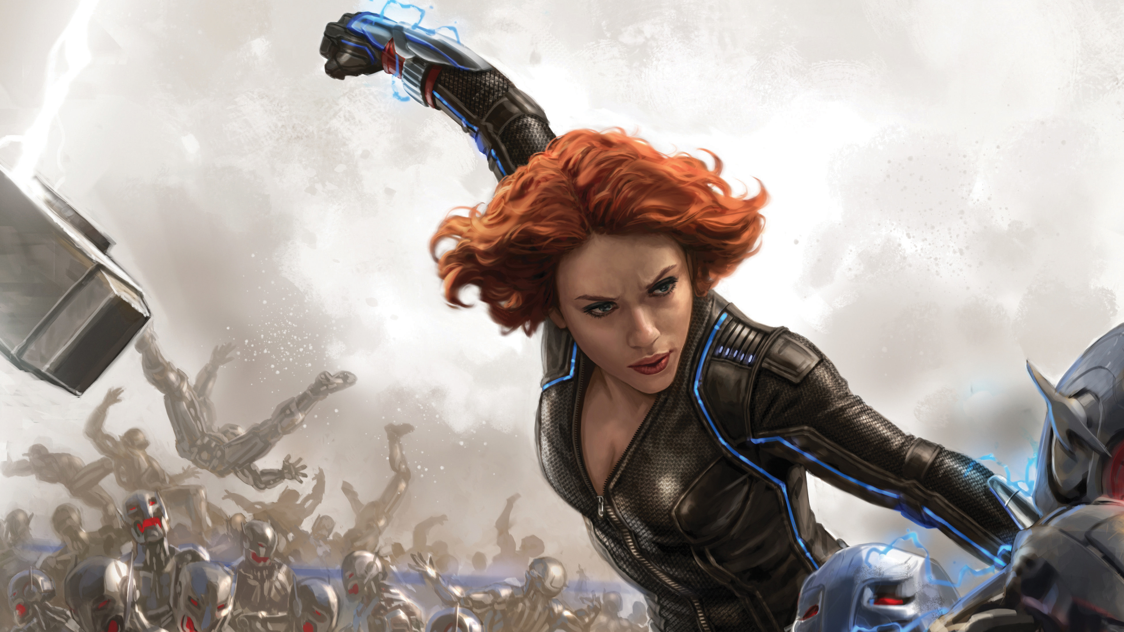 Wallpaper 4k Black Widow Fan Art 4k 4k Wallpapers Artist