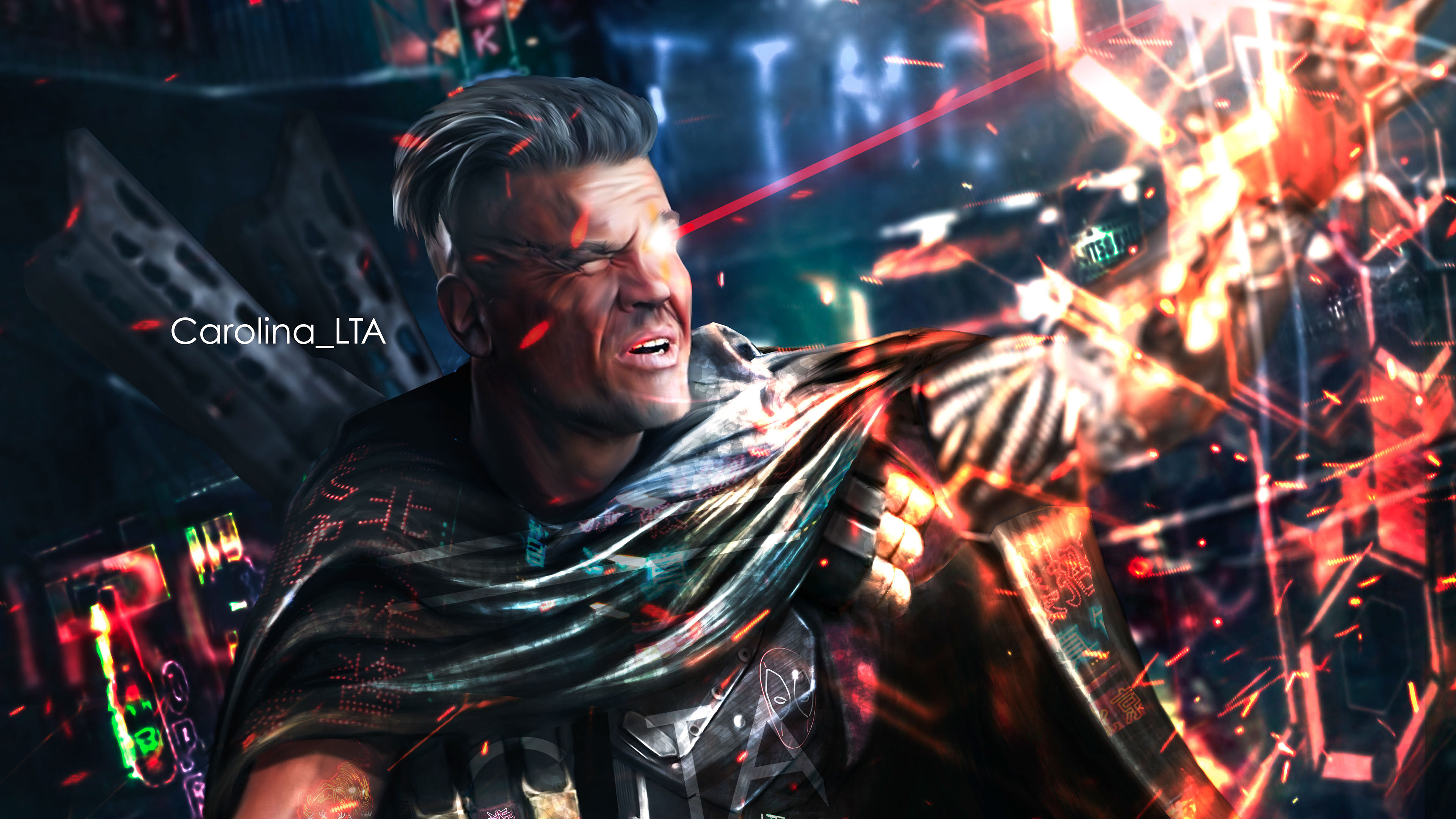 cable deadpool 2 art 4k 1555206400 - Cable Deadpool 2 Art 4k - superheroes wallpapers, hd-wallpapers, deadpool 2 wallpapers, cable wallpapers, behance wallpapers, artwork wallpapers, artist wallpapers, 4k-wallpapers