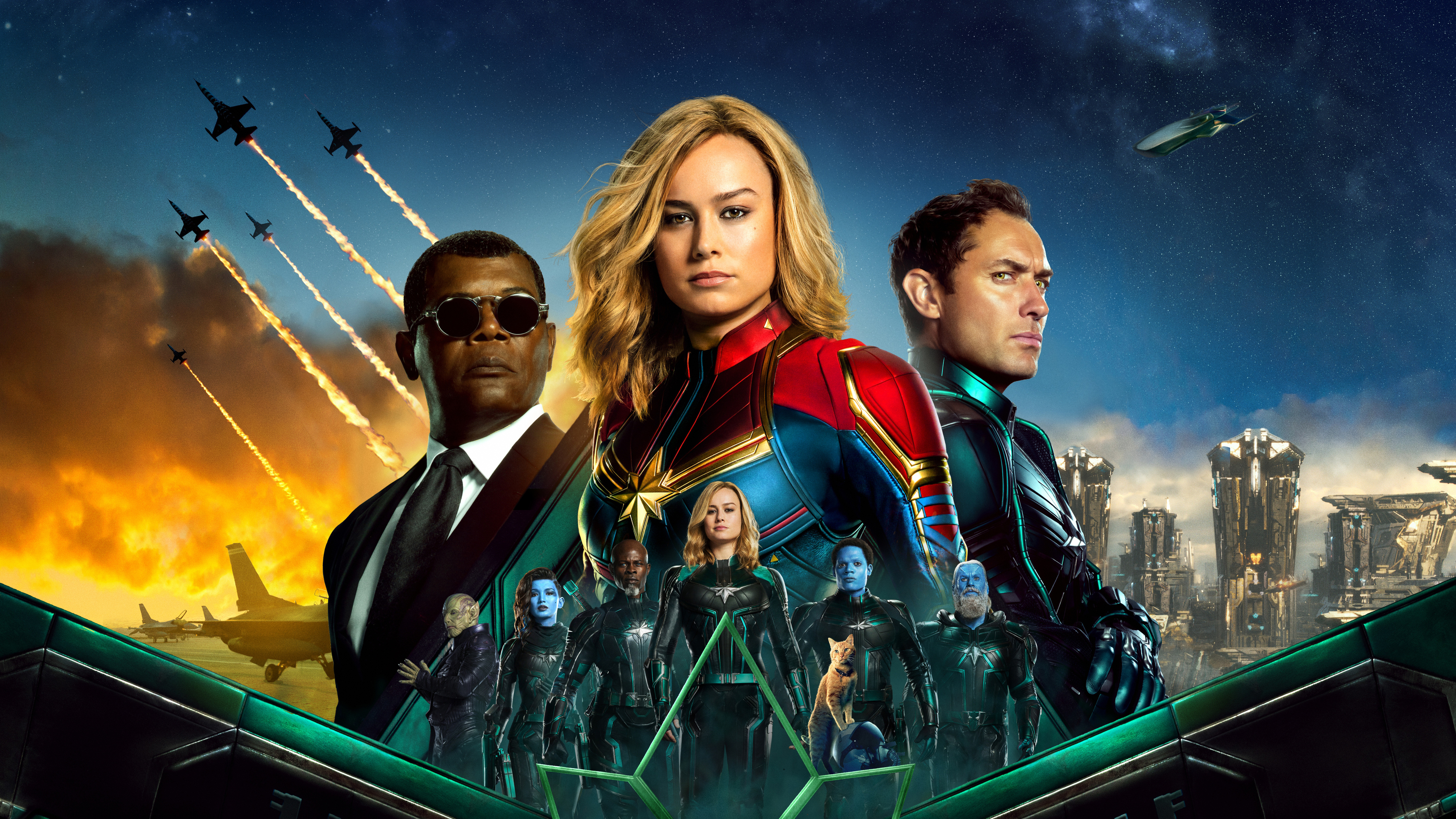 captain marvel movie poster 4k 1555208721 - Captain Marvel Movie Poster 4k - movies wallpapers, hd-wallpapers, captain marvel wallpapers, captain marvel movie wallpapers, brie larson wallpapers, 5k wallpapers, 4k-wallpapers, 2019 movies wallpapers