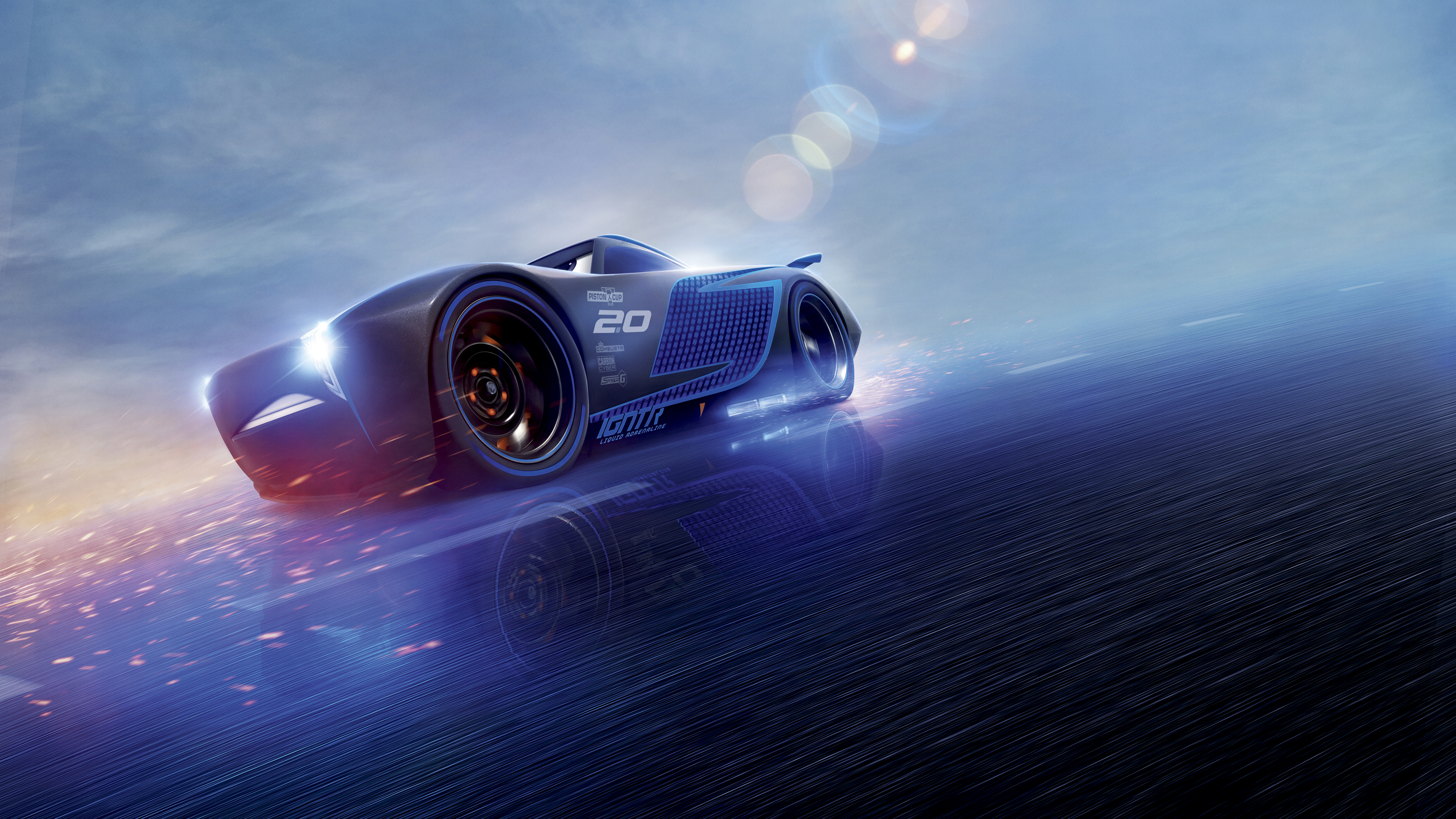 Cars 3 Jackson Storm 4k movies wallpapers, hd-wallpapers ...