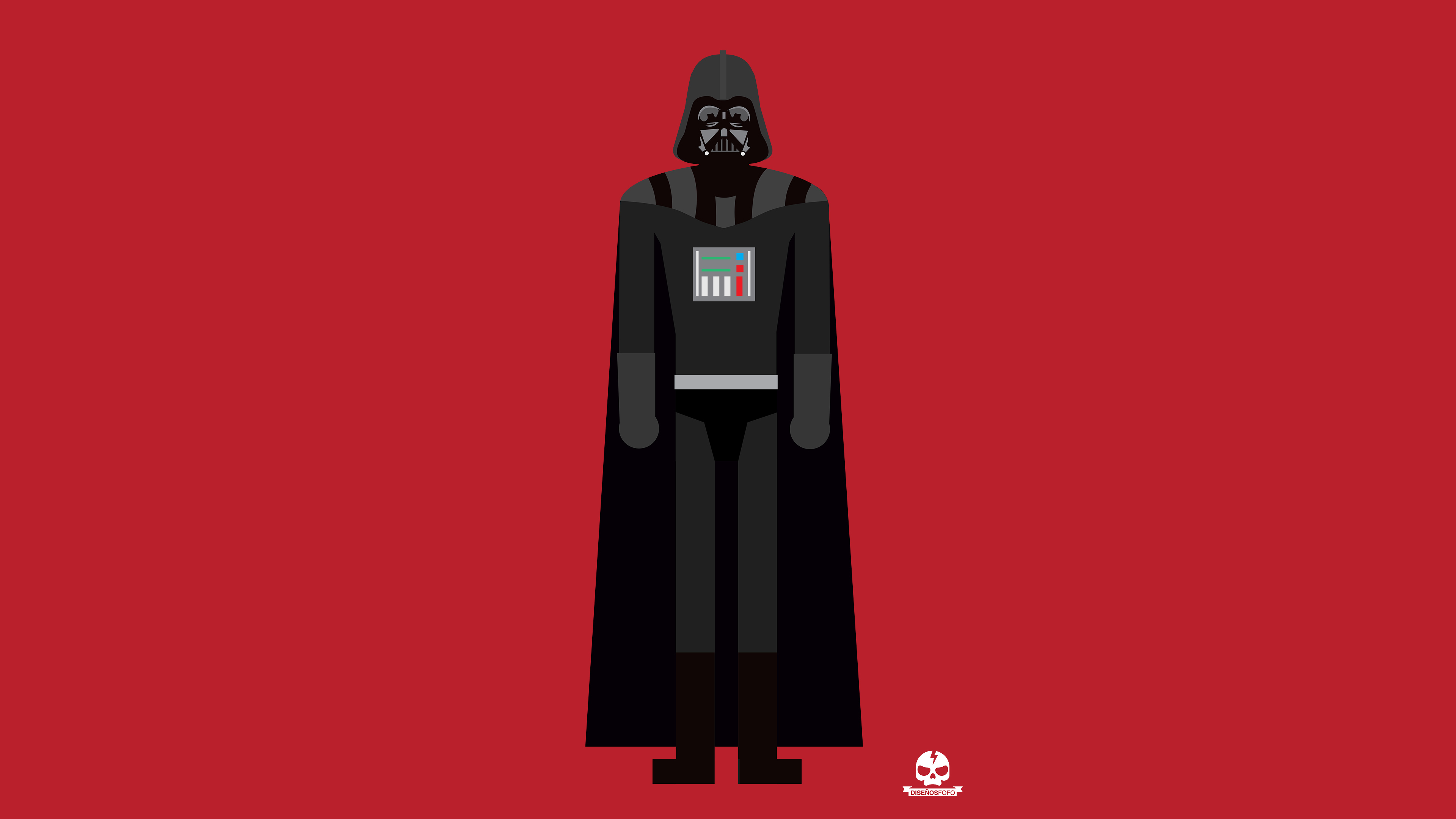 Wallpaper 4k Darth Vader Minimalism 4k 4k Wallpapers