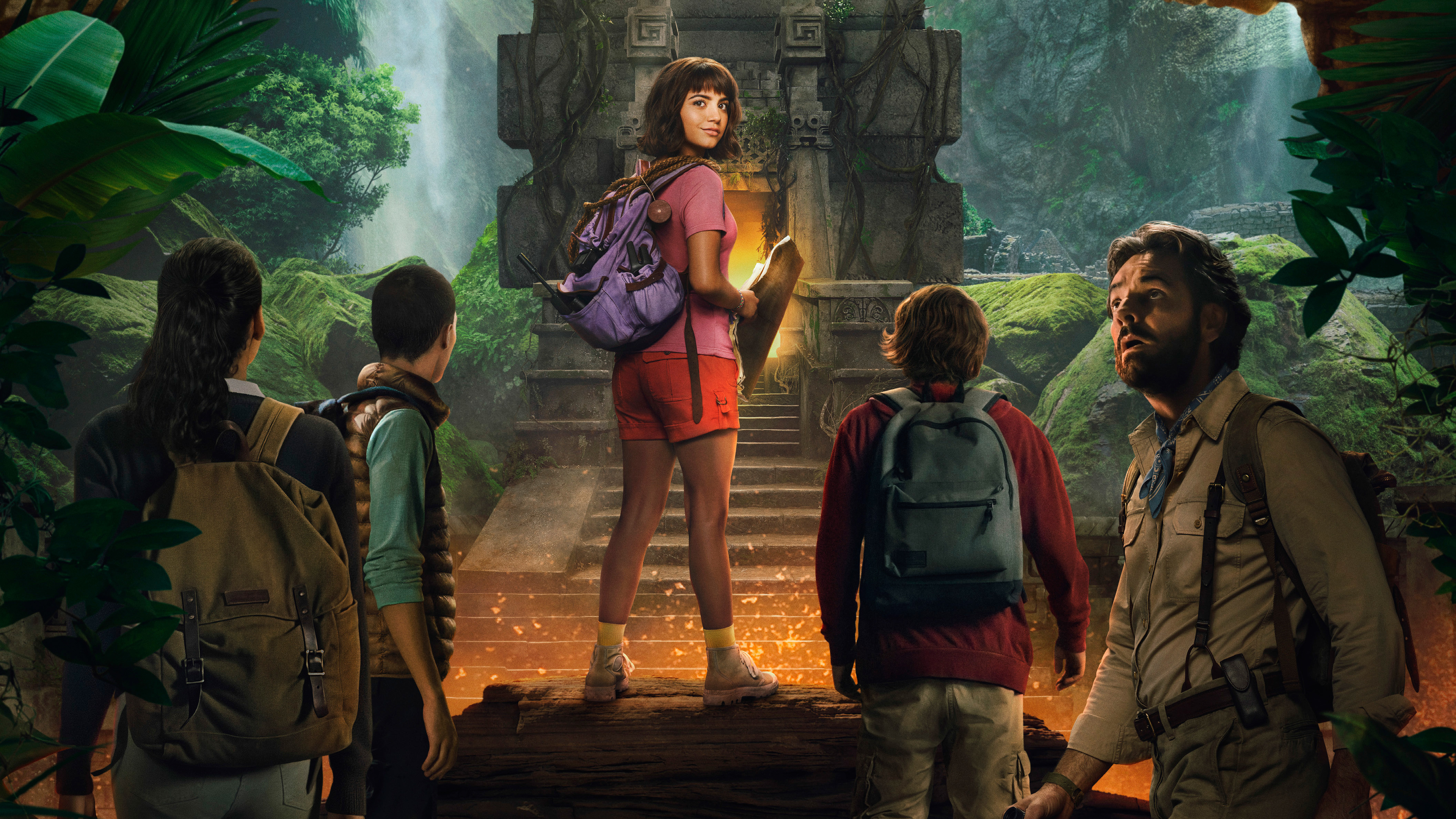 dora and the lost city of gold 2019 4k 1555208586 - Dora And The Lost City Of Gold 2019 4k - movies wallpapers, isabela moner wallpapers, hd-wallpapers, dora the explorer wallpapers, dora and the lost city of gold wallpapers, 4k-wallpapers, 2019 movies wallpapers