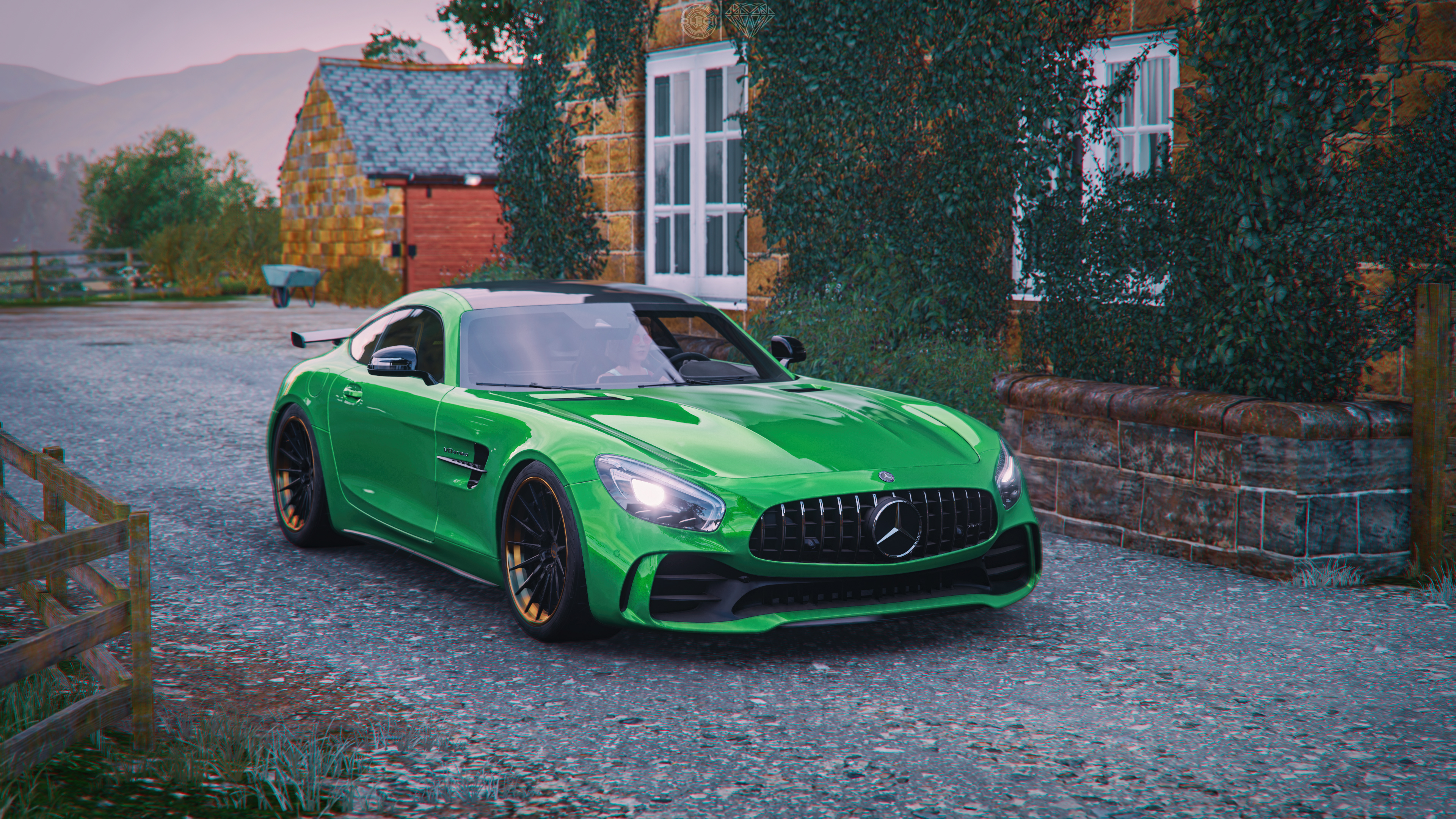 Wallpaper 4k Forza Horizon 4 Mercedes Amg Gt R 4k 2019 Games