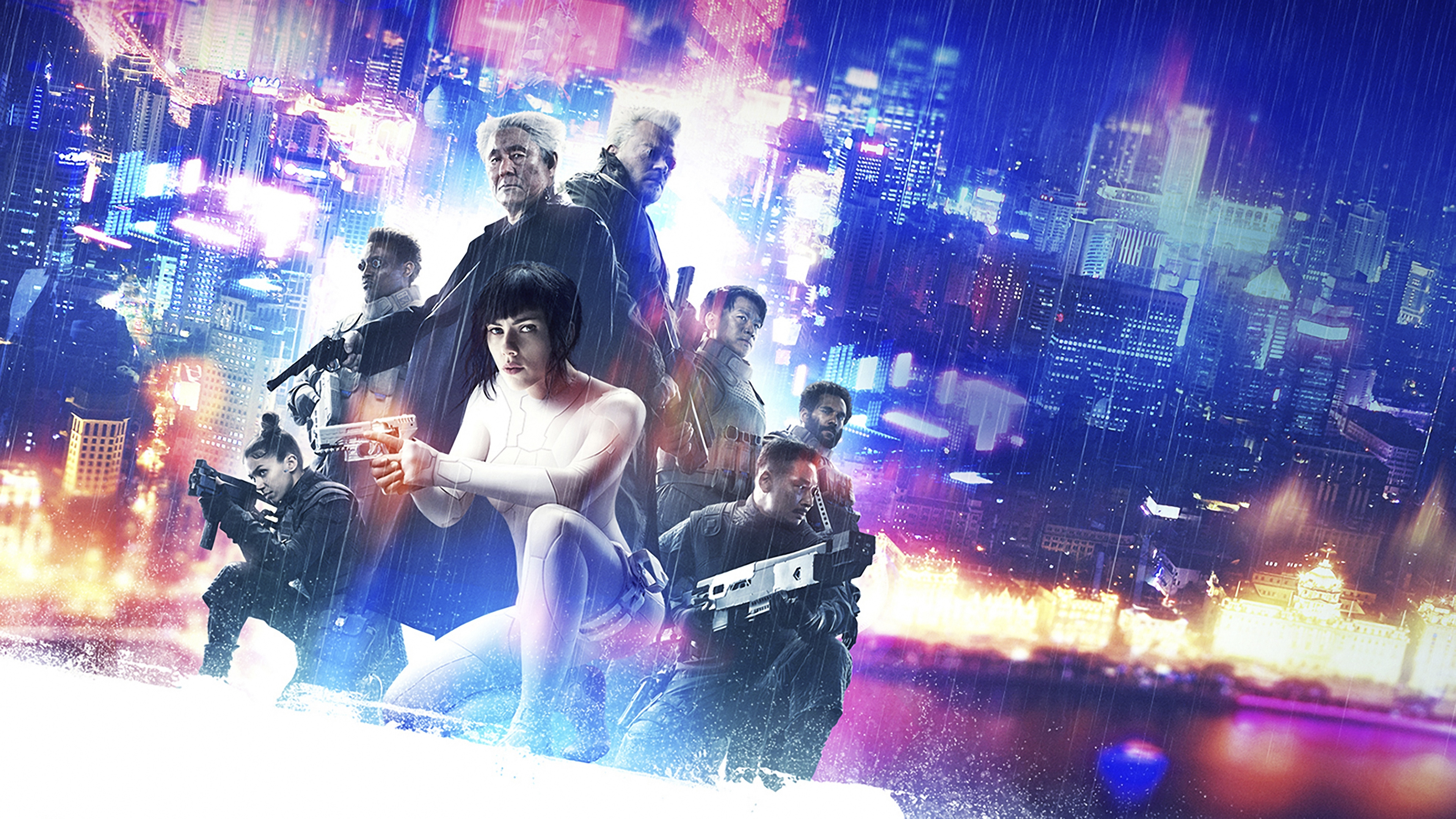 ghost in the shell 4k poster 1555208789 - Ghost In The Shell 4k Poster - poster wallpapers, movies wallpapers, hd-wallpapers, ghost in the shell wallpapers, 4k-wallpapers