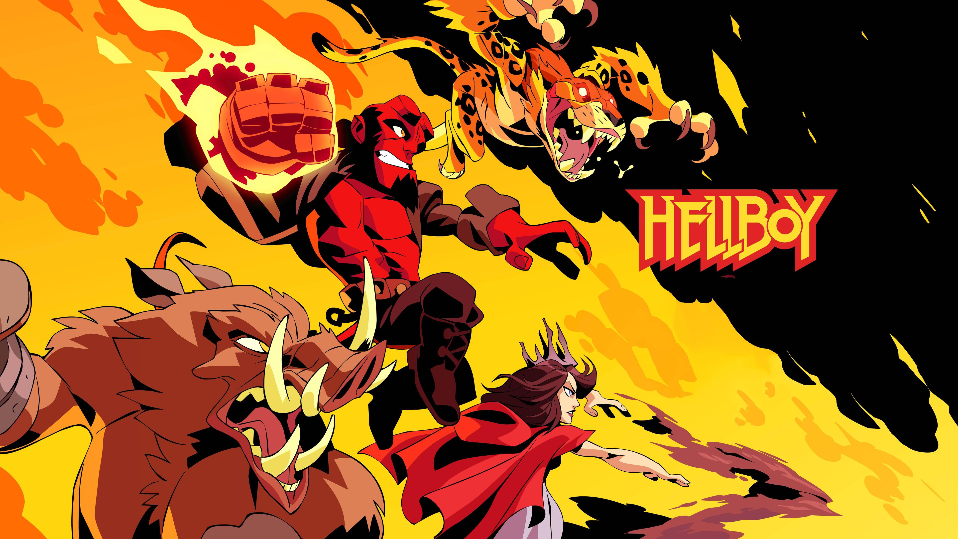 hellboy artwork 4k 1554244961 - Hellboy Artwork 4k - superheroes wallpapers, hellboy wallpapers, hd-wallpapers, artwork wallpapers, 8k wallpapers, 5k wallpapers, 4k-wallpapers