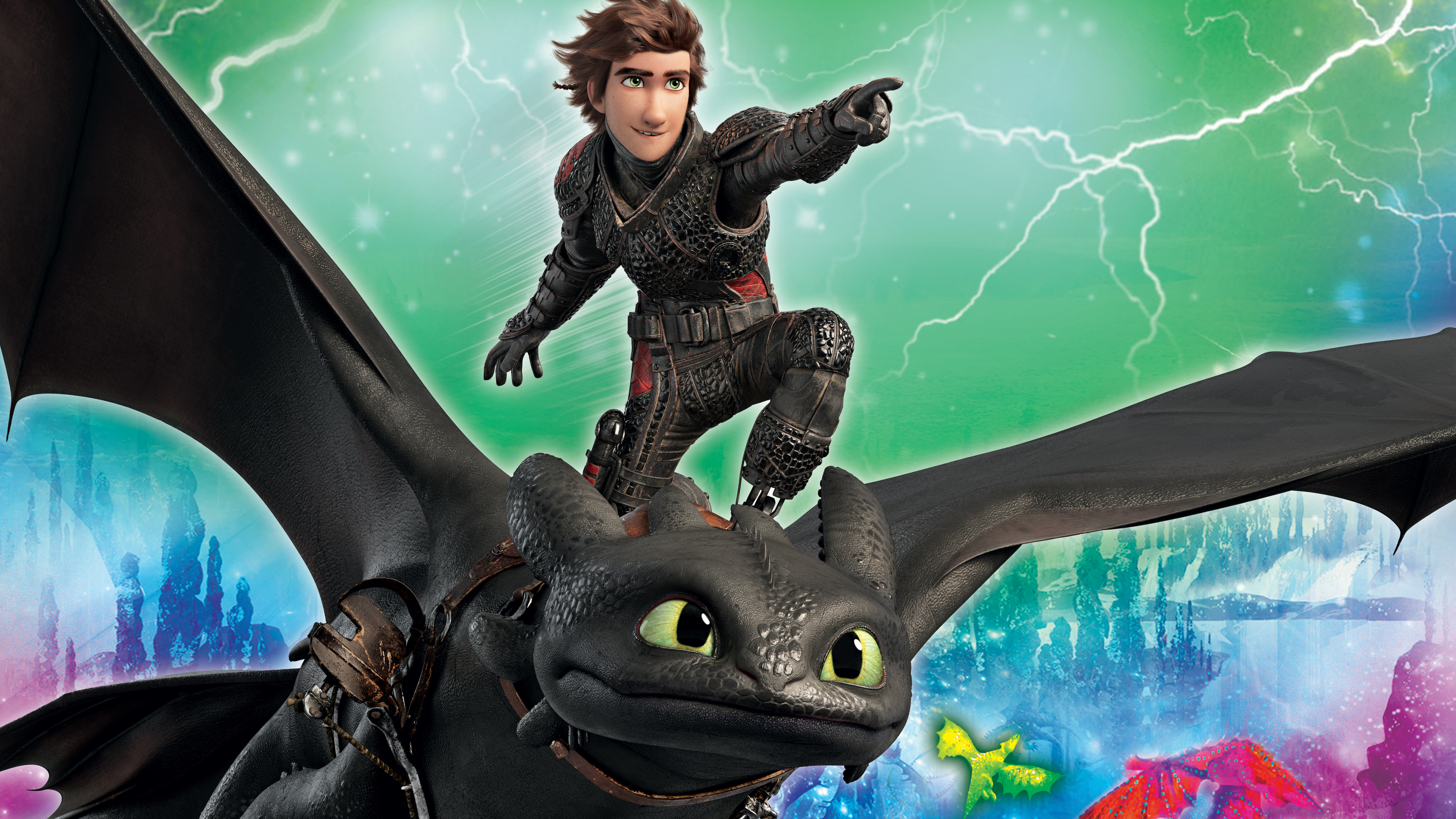 Wallpaper 4k How To Train Your Dragon 4k 2019 Movies